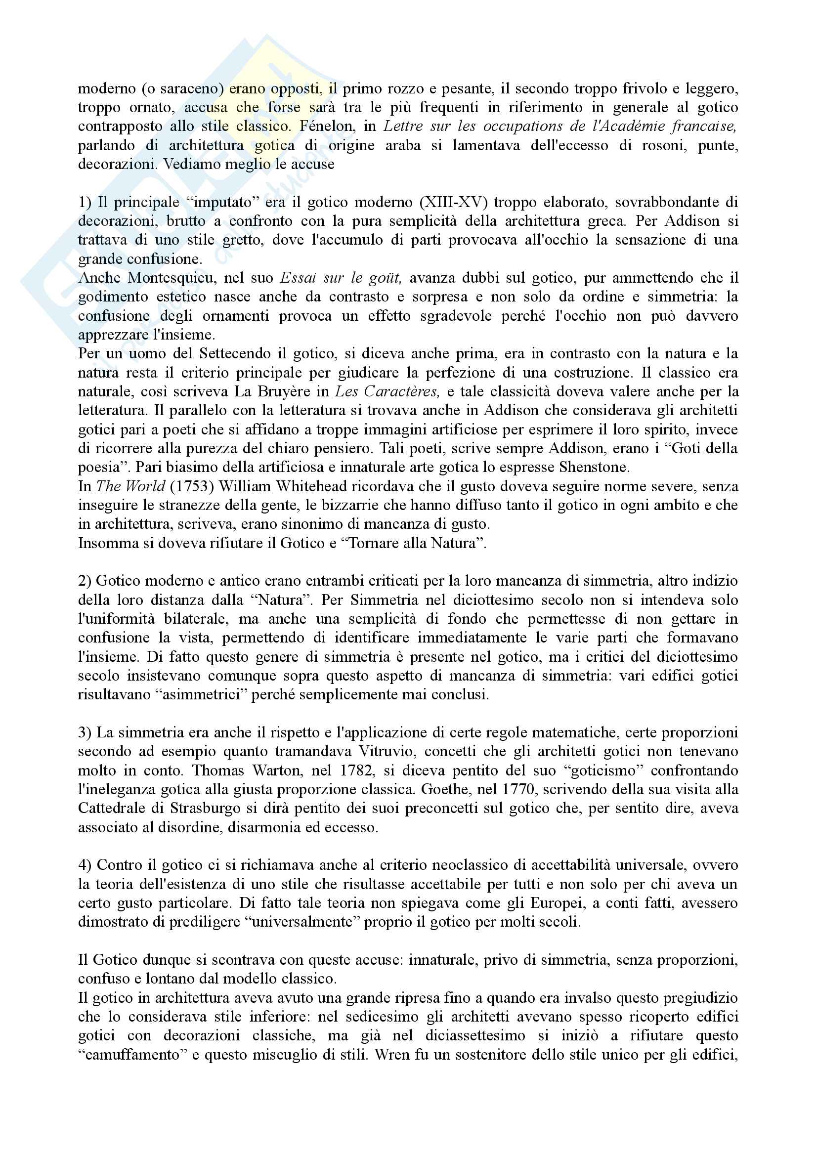 Riassunto Esame Letteratura Inglese. Prof.ssa Maria Luisa de Rinaldis. Libro consigliato: Mirella Billi, Il Gotico Inglese Pag. 16