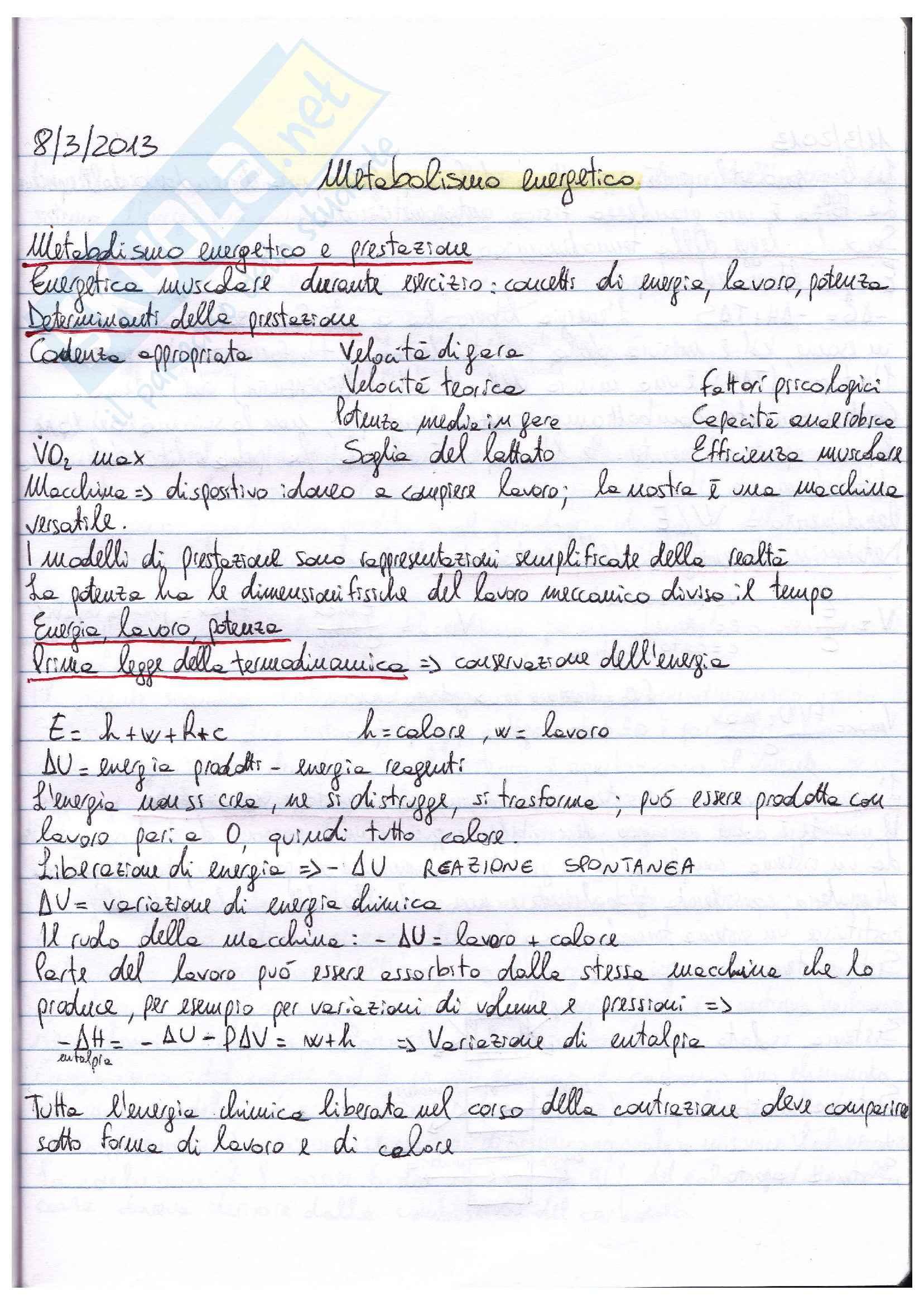 Riassunto esame Fisiologia, prof. Macaluso, libro Fisiologia, Vander, Costill: parte III