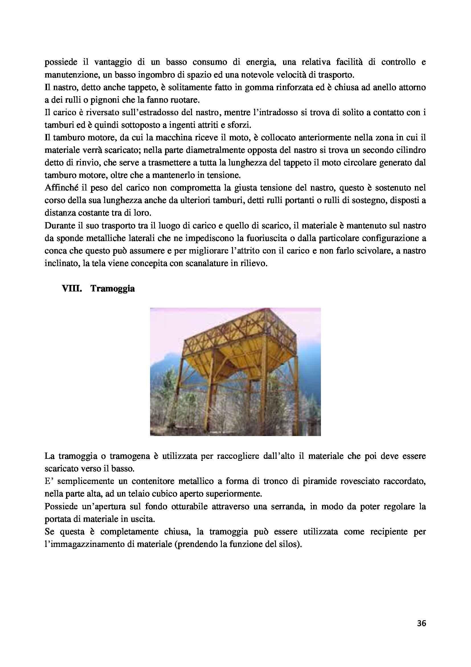 Tesi triennale - L'impianto di trattamento degli inerti del consorzio Cave Bologna: aspetti tecnici e ambientali Pag. 36