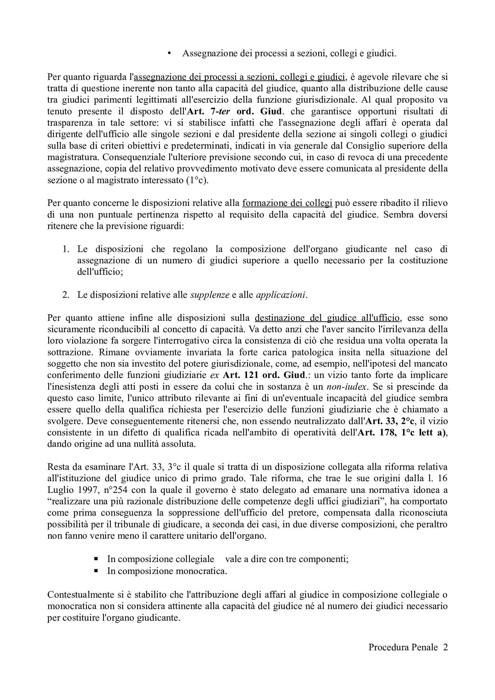 Riassunto esame Procedura Penale, prof. Camon, libro consigliato Procedura Penale, Conso Grevi Pag. 2