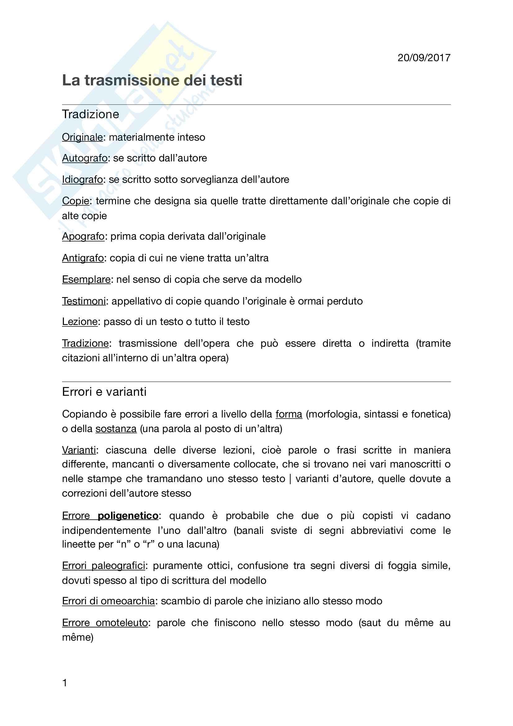 Riassunto esame filologia romanza, prof. Marinetti, libri consigliati A. Andreose e A. Stussi