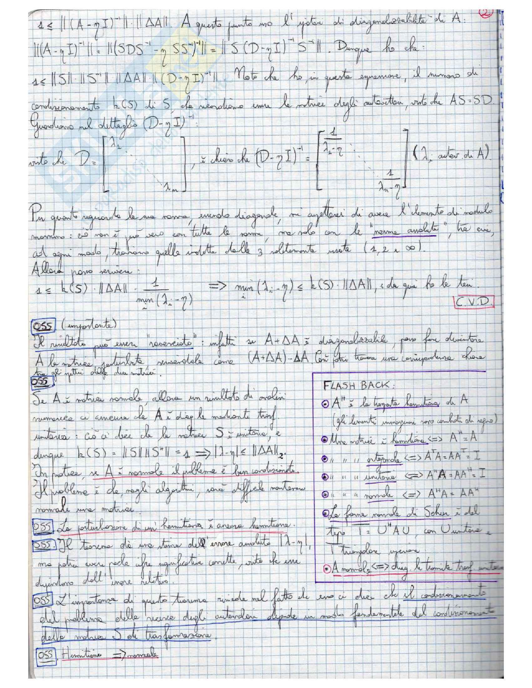 Calcolo Scientifico Pag. 2