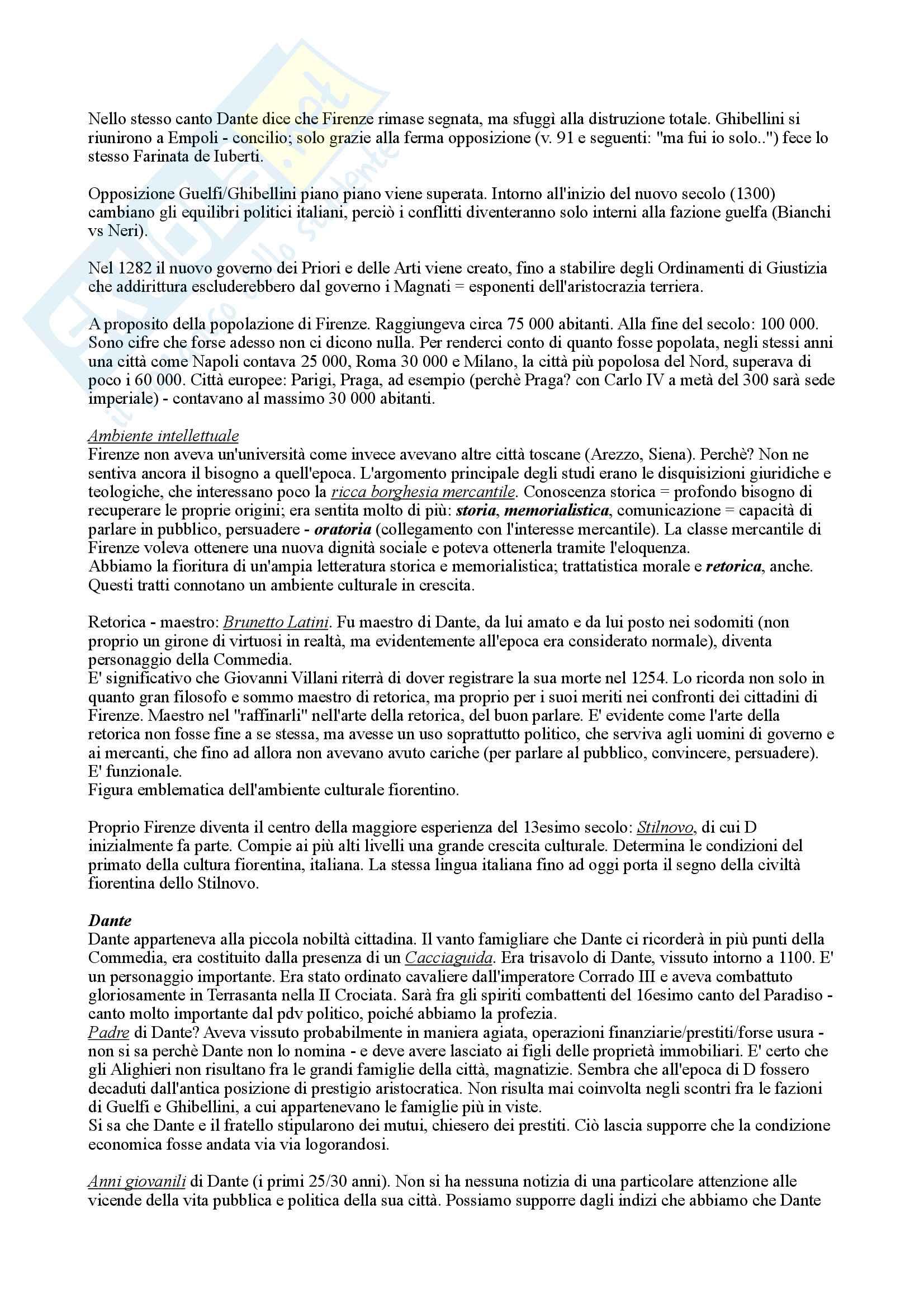 Letteratura italiana corso avanzato 6 crediiti Pag. 2