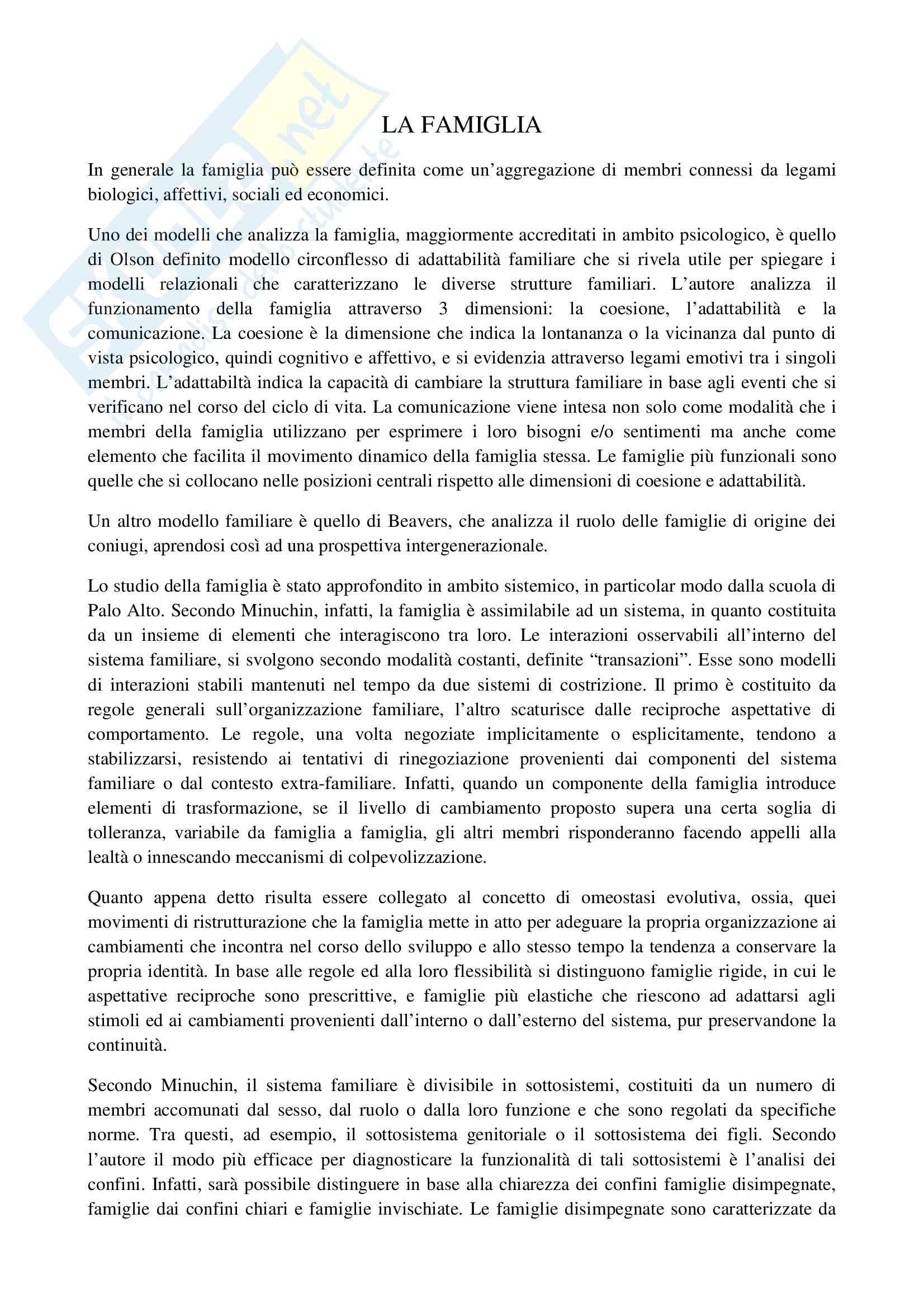 TEMI SVOLTI ESAME DI STATO PSICOLOGO SECONDA PARTE