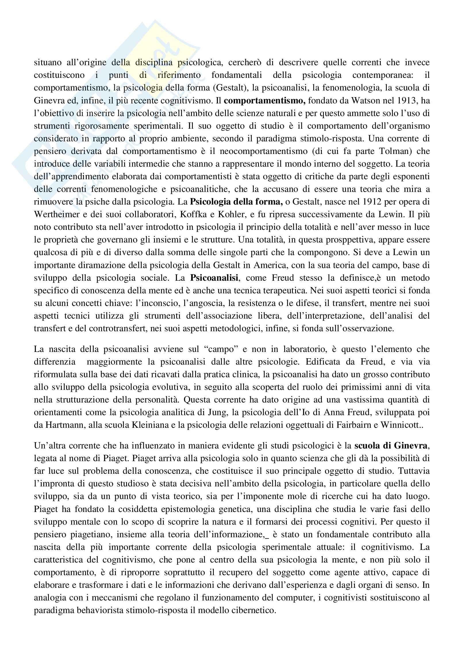 TEMI SVOLTI ESAME DI STATO PSICOLOGO SECONDA PARTE Pag. 106