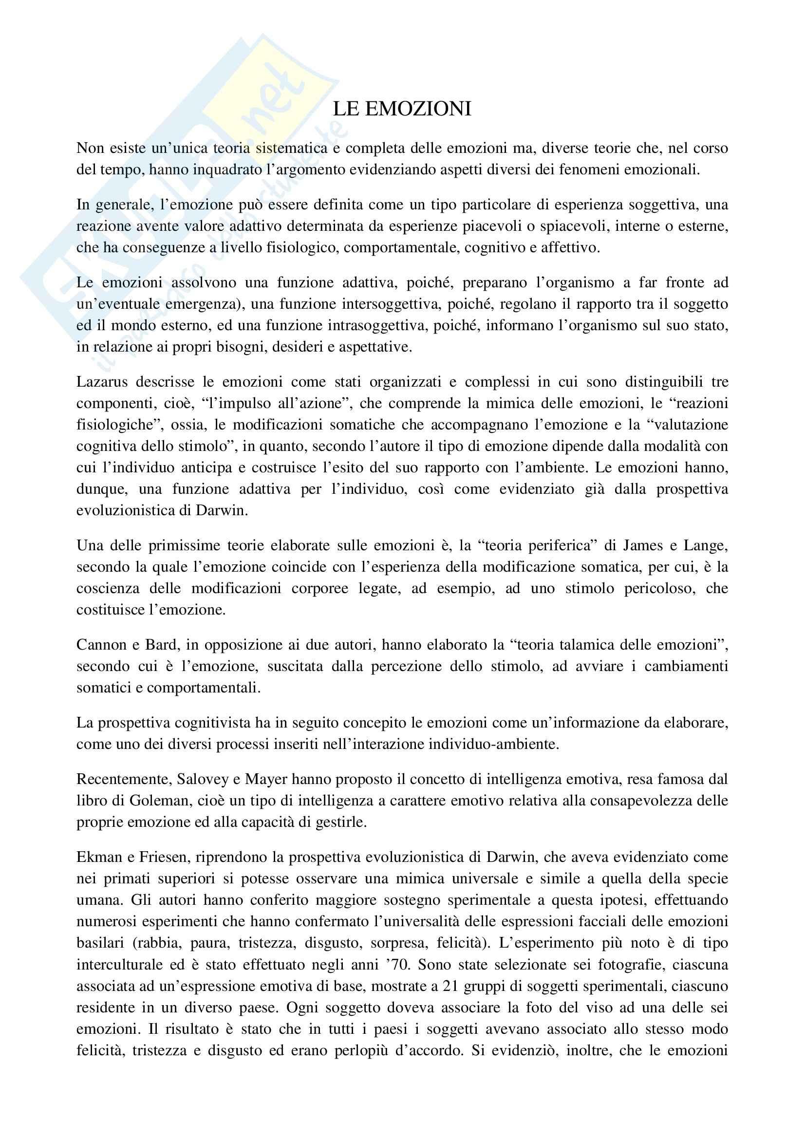 TEMI SVOLTI ESAME DI STATO PSICOLOGO SECONDA PARTE Pag. 11