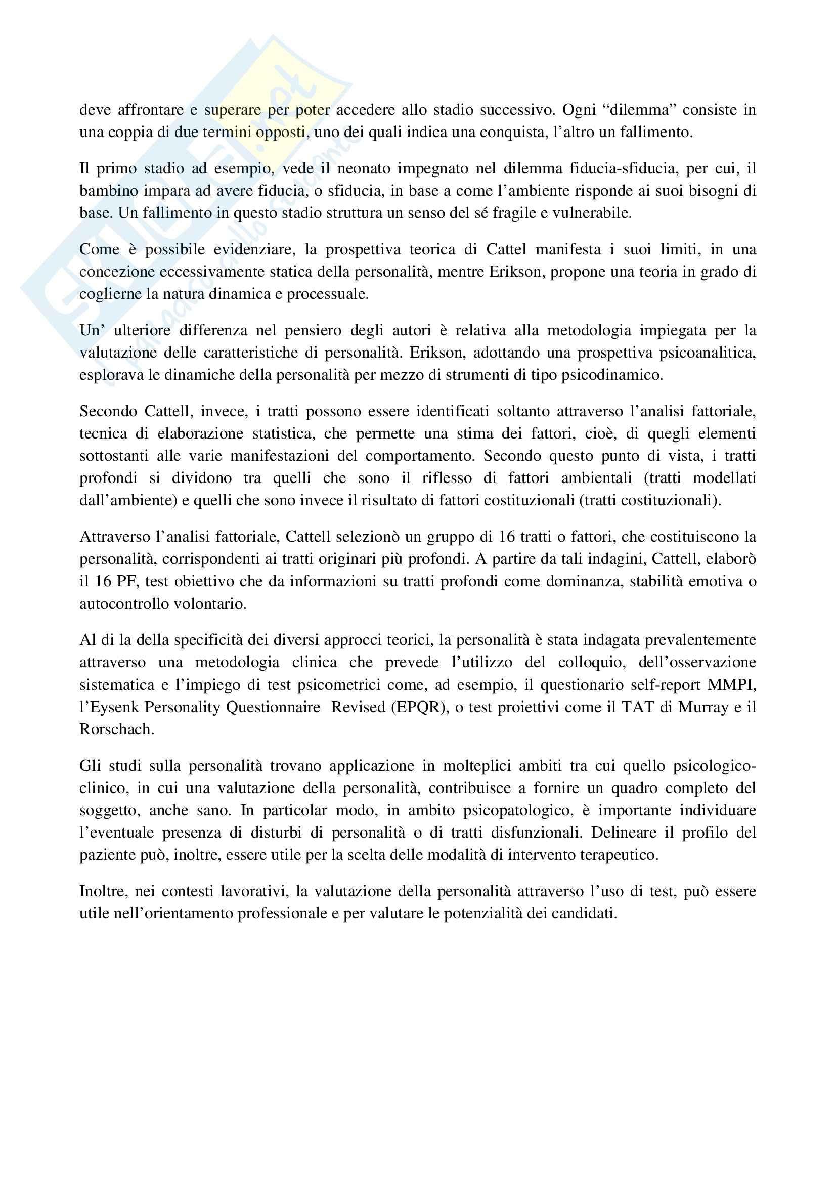 TEMI SVOLTI ESAME DI STATO PSICOLOGO SECONDA PARTE Pag. 16