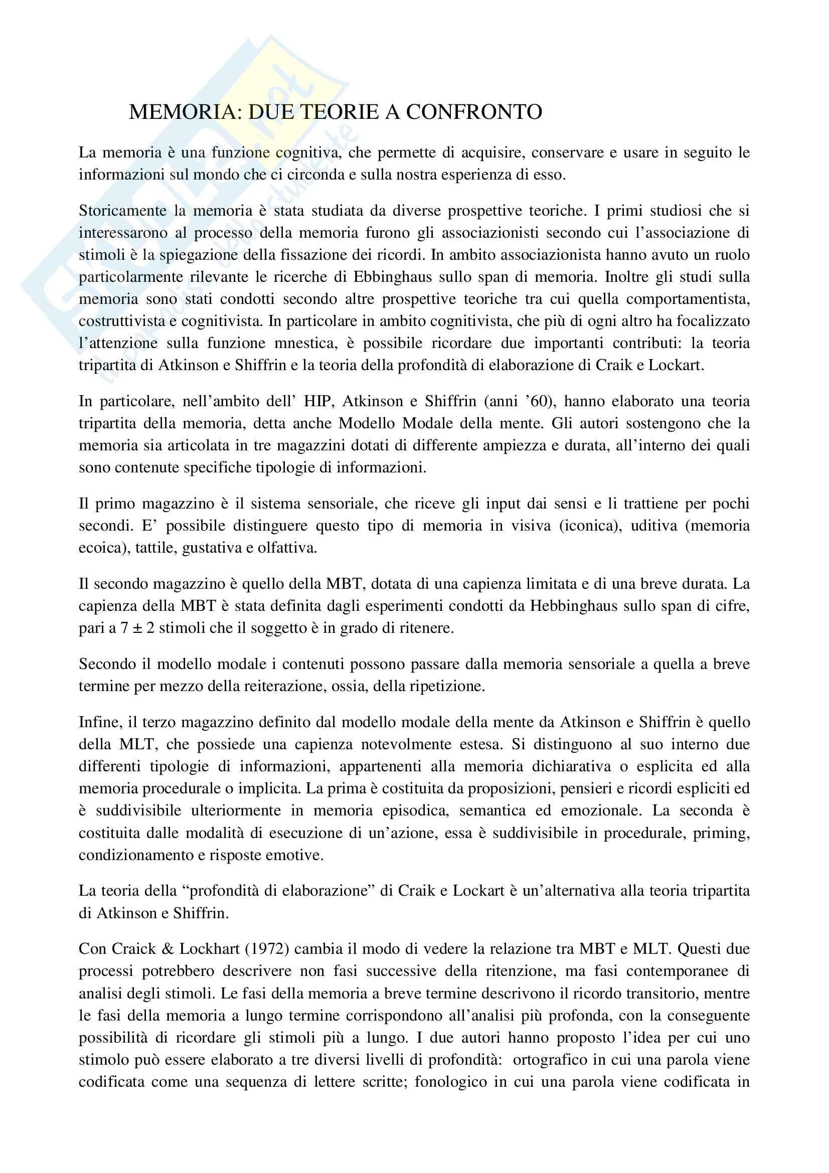 TEMI SVOLTI ESAME DI STATO PSICOLOGO SECONDA PARTE Pag. 56