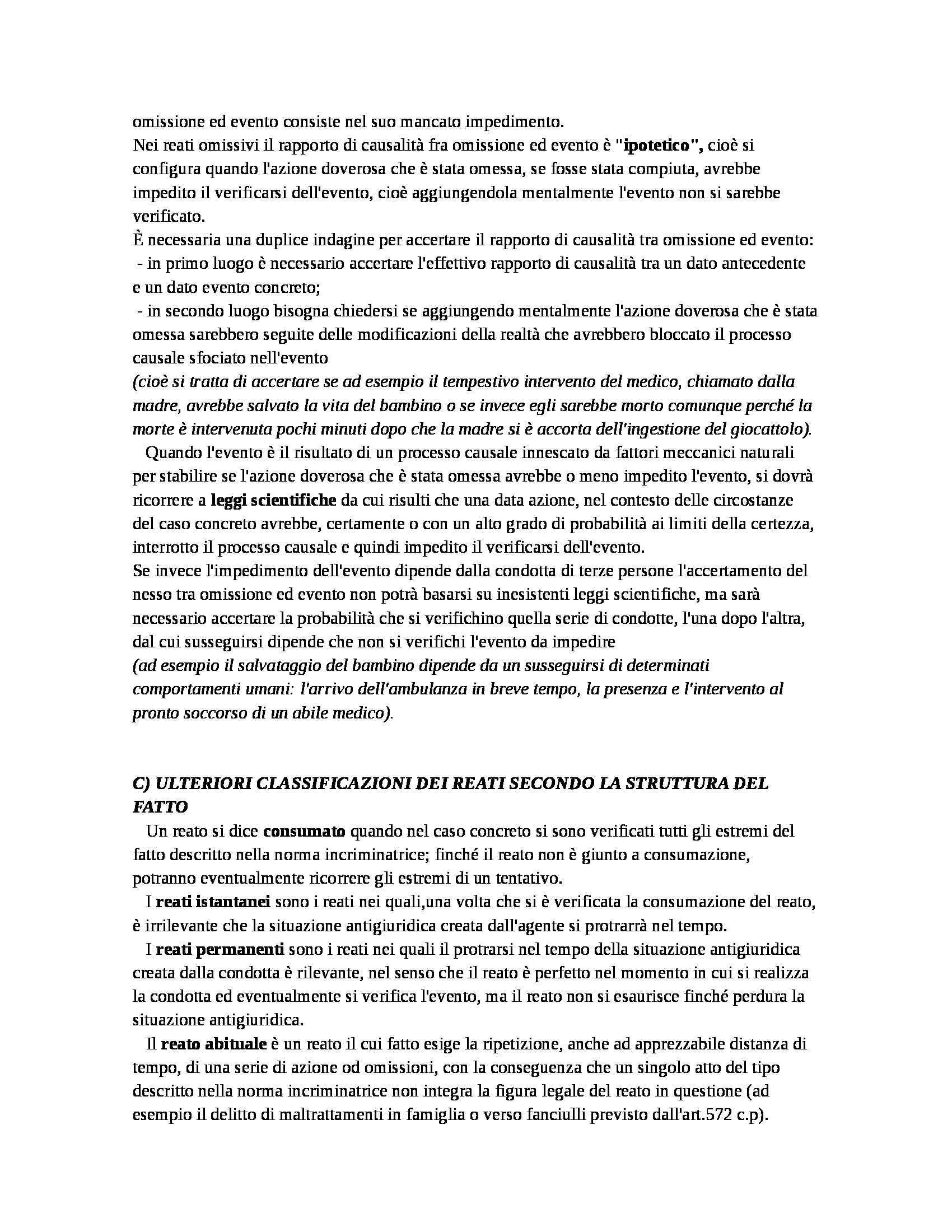 Riassunto esame Diritto Penale, prof. D'Ascola, libro consigliato Manuale di Diritto Penale, Marinucci, Dolcini Pag. 36
