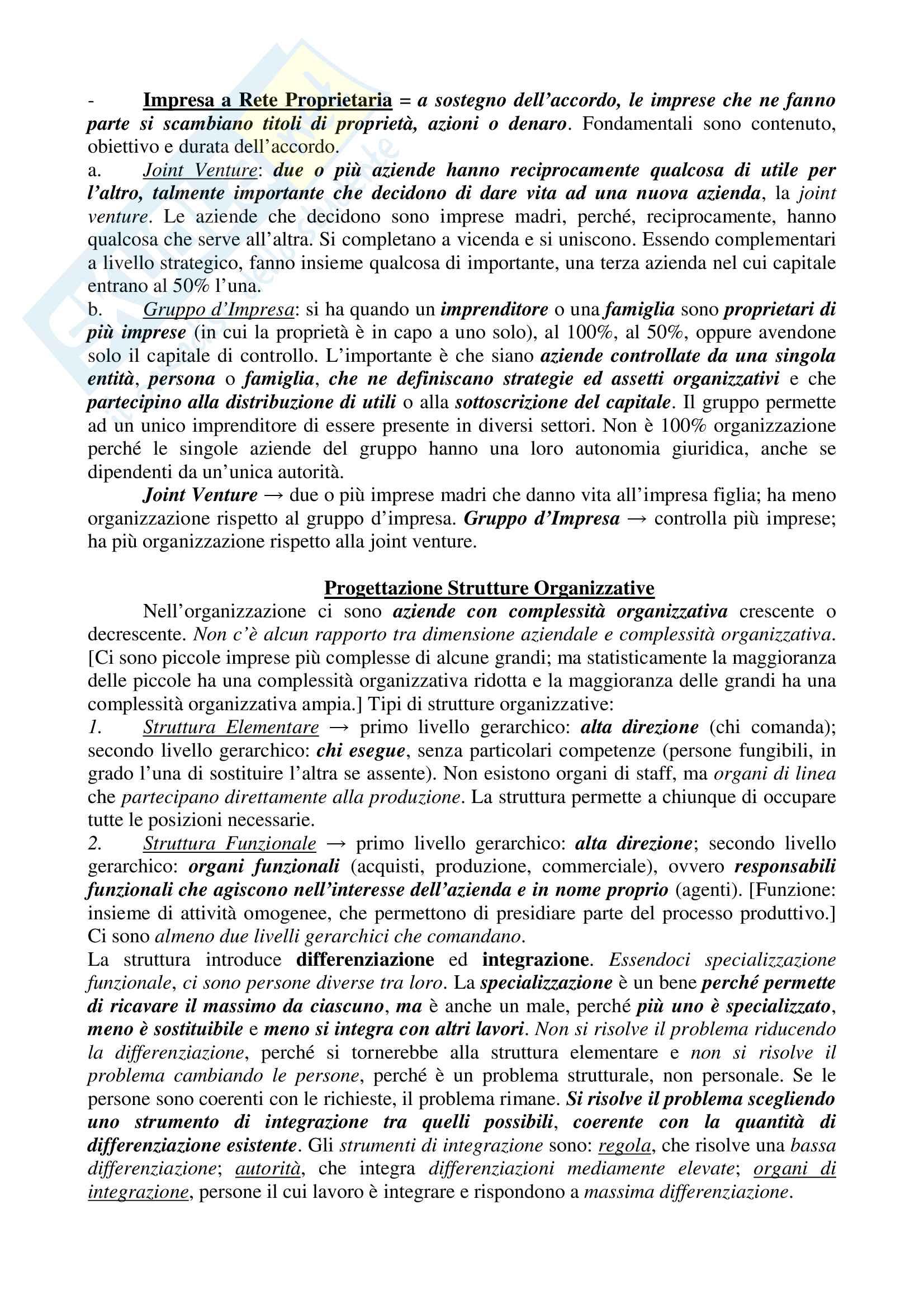 Appunti - Organizzazione Aziendale Pag. 16