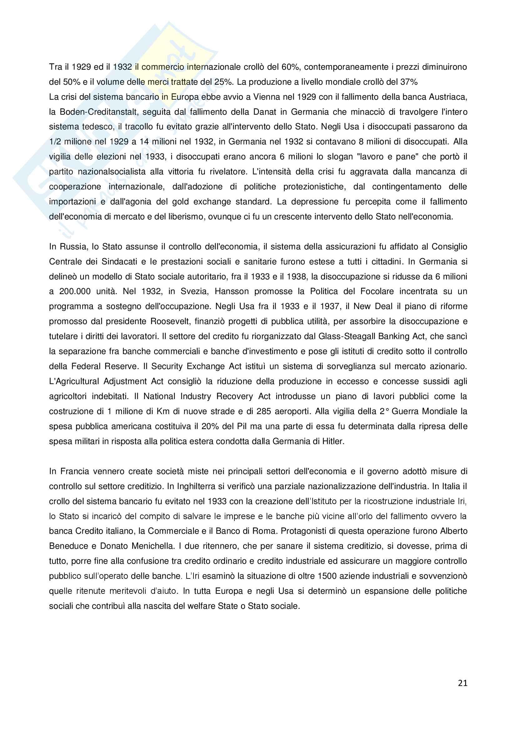 Storia della finanza pubblica Pag. 21