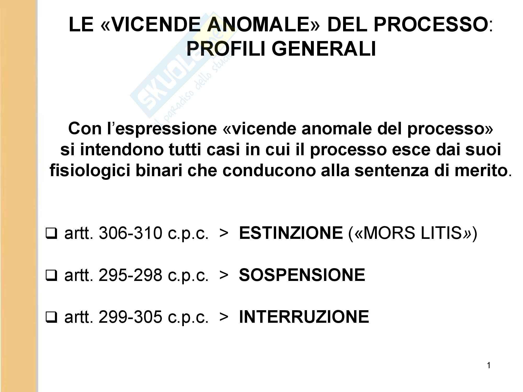 Diritto processuale civile slide 3
