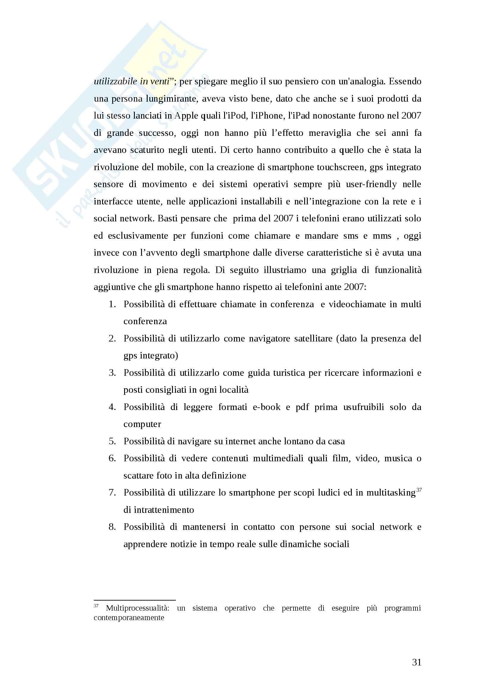 Tesi - I nuovi media a servizio del turismo. Il caso Foursquare Pag. 31
