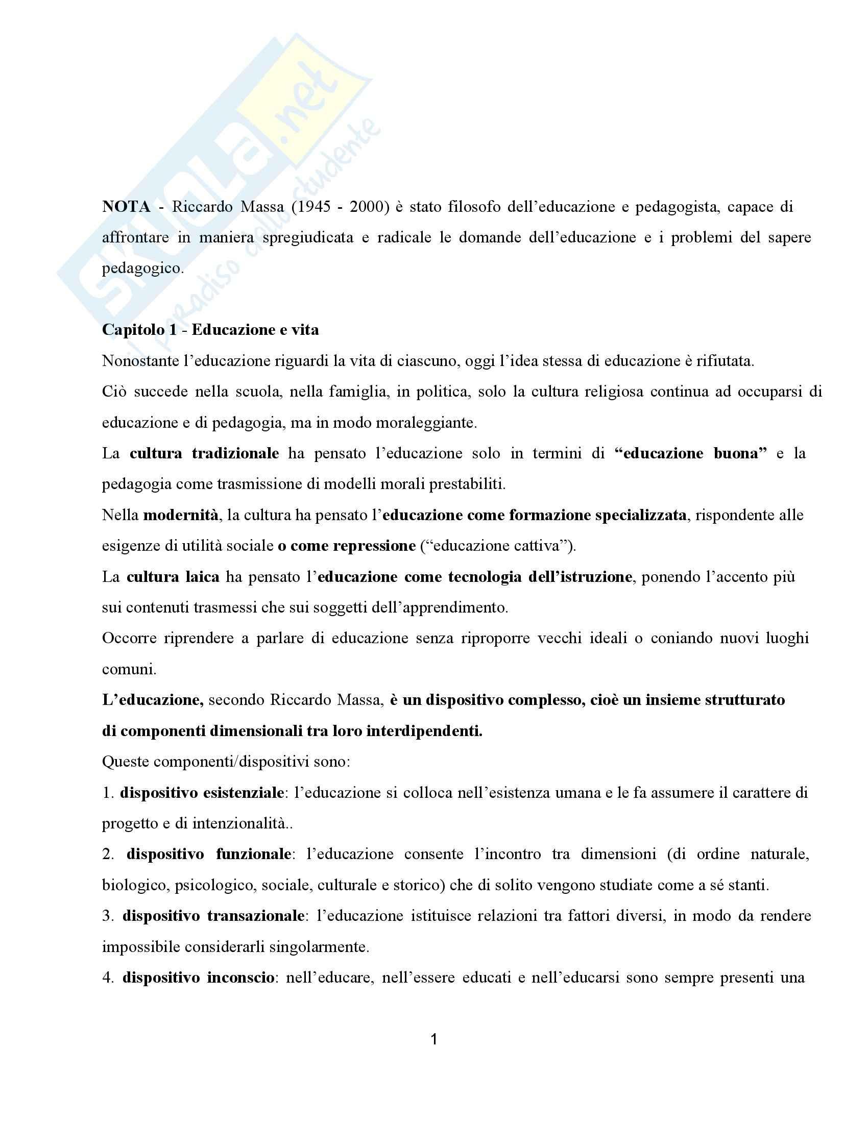 appunto C. Palmieri Didattica e pedagogia dell'inclusione