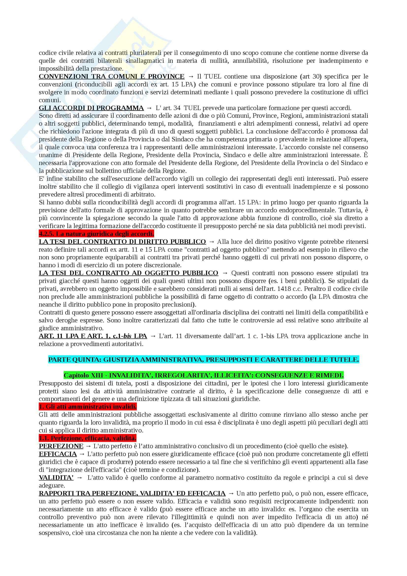 Riassunto esame Diritto Amministrativo I, prof. Marzuoli, libro consigliato Diritto delle Amministrazioni Pubbliche di Sorace Pag. 101