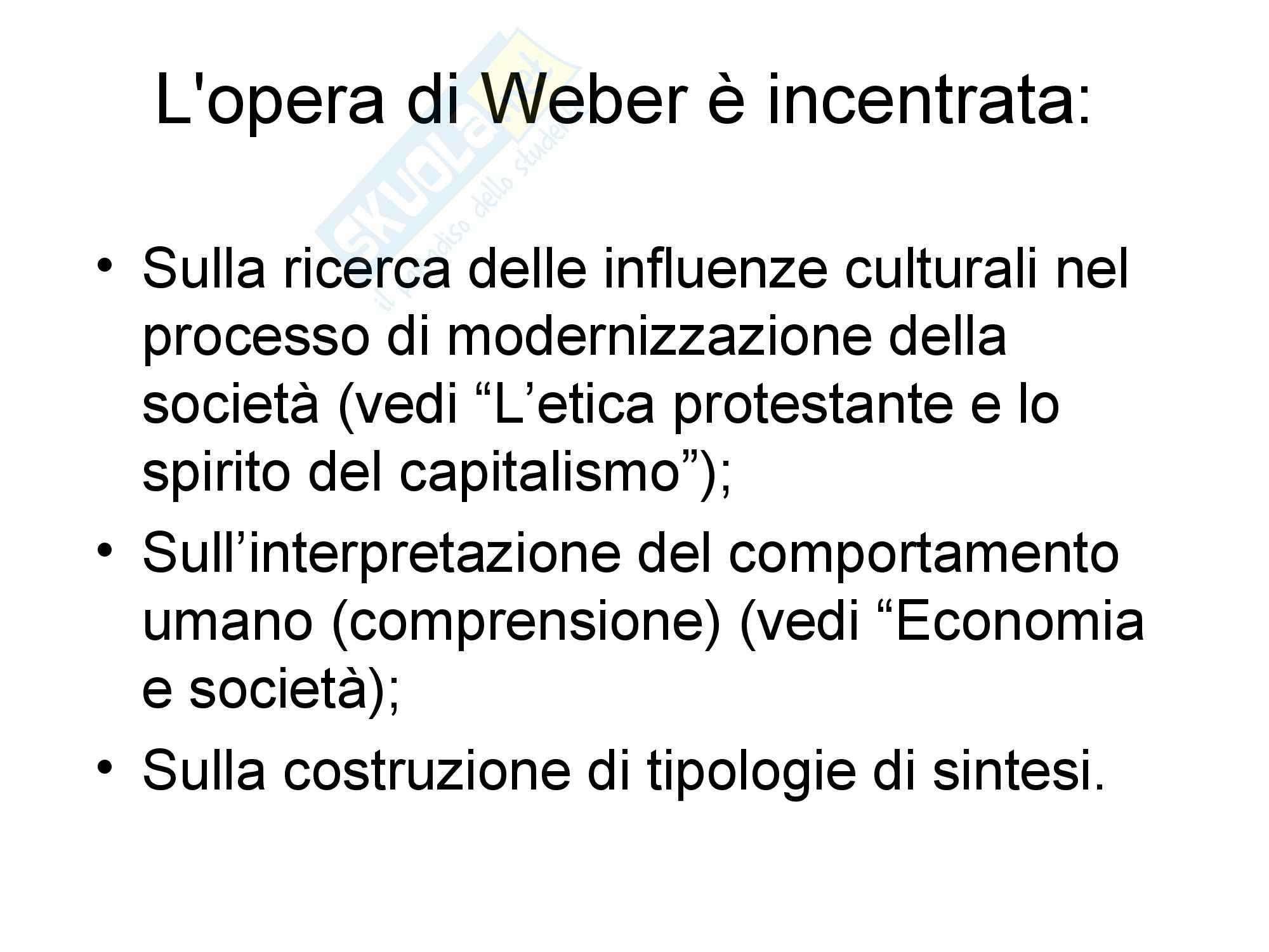 Appunti su Max Weber Pag. 2