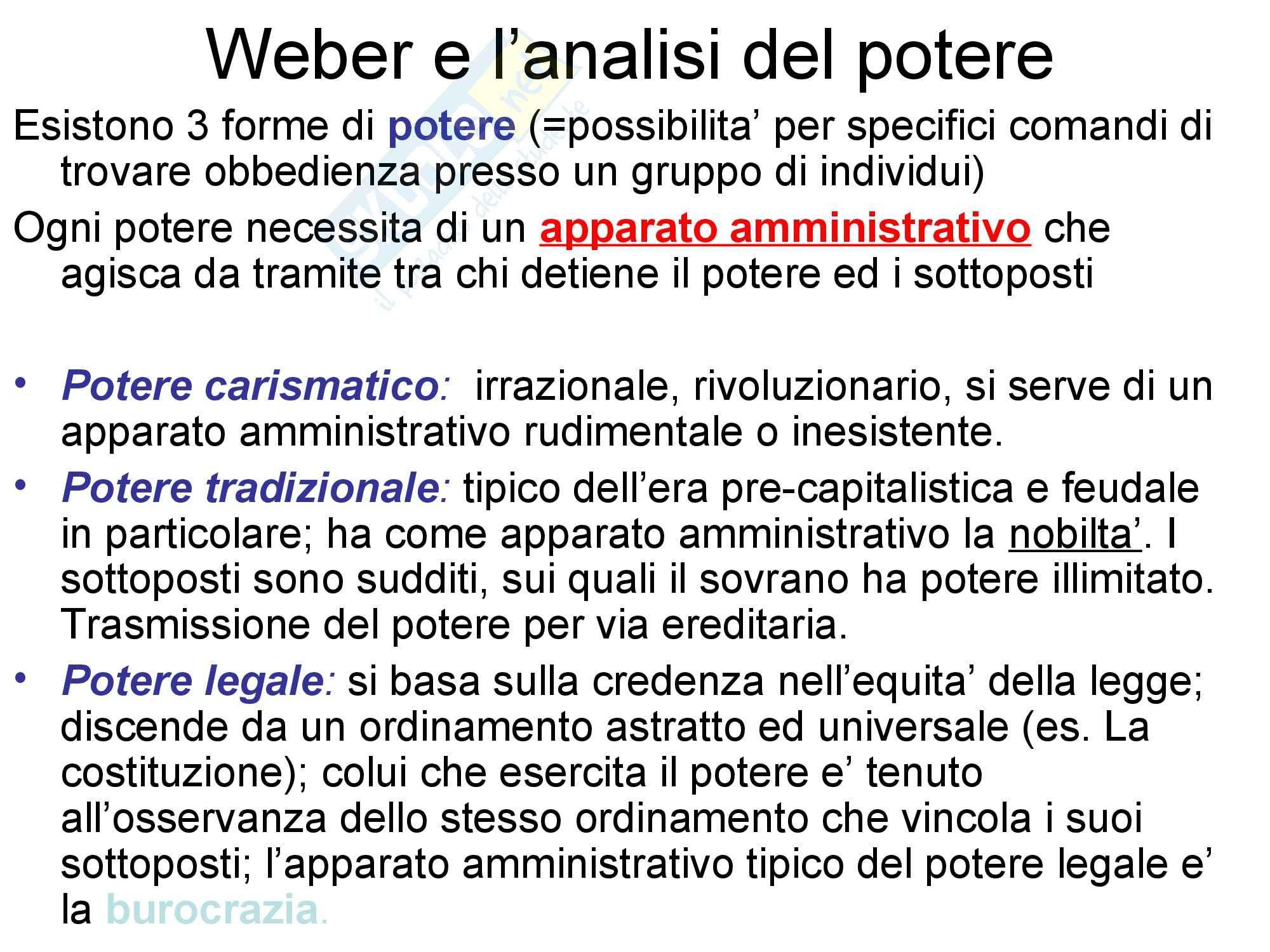 Appunti su Max Weber Pag. 6