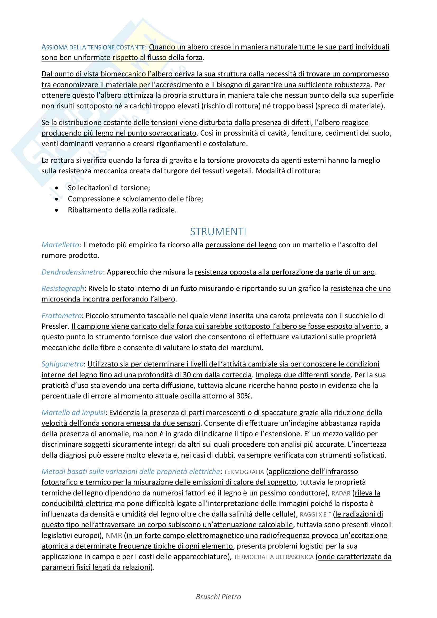 Riassunto Arboricoltura Ornamentale - Impianto e Gestione Pag. 21