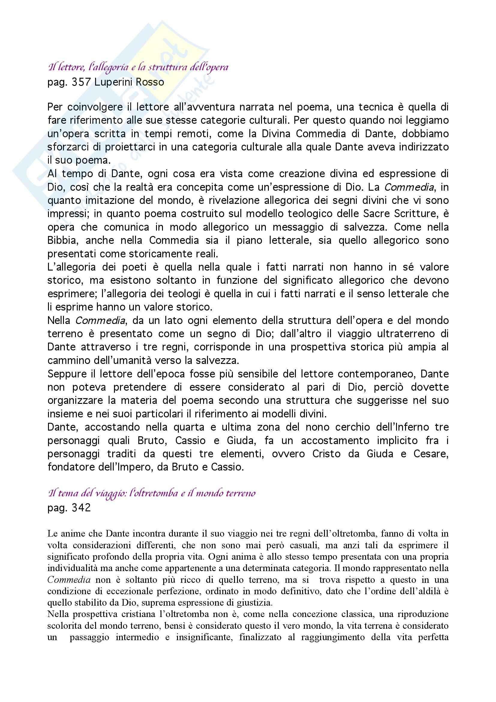 Letteratura italiana - nozioni generali