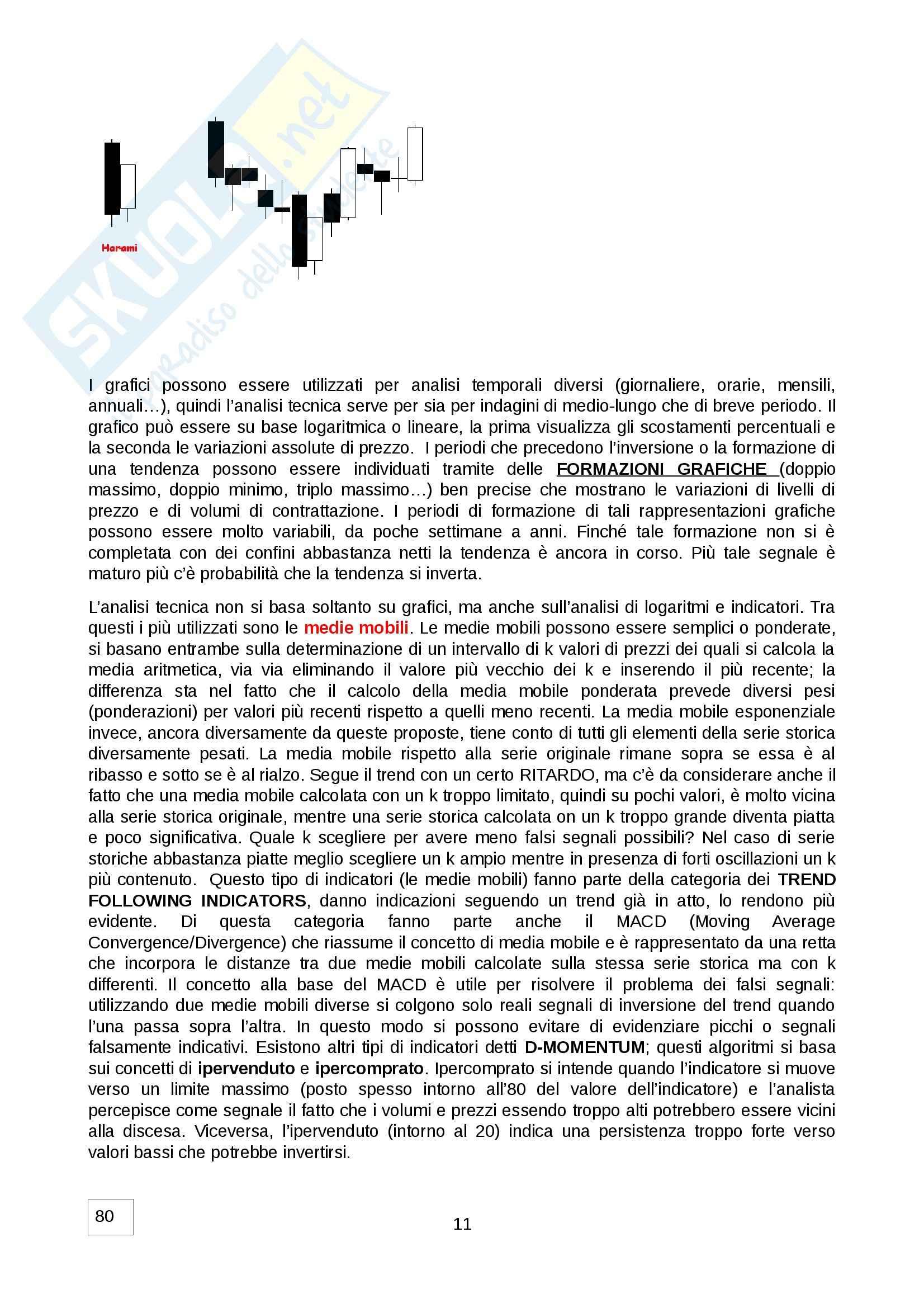 Economia del mercato mobiliare - Appunti Pag. 11