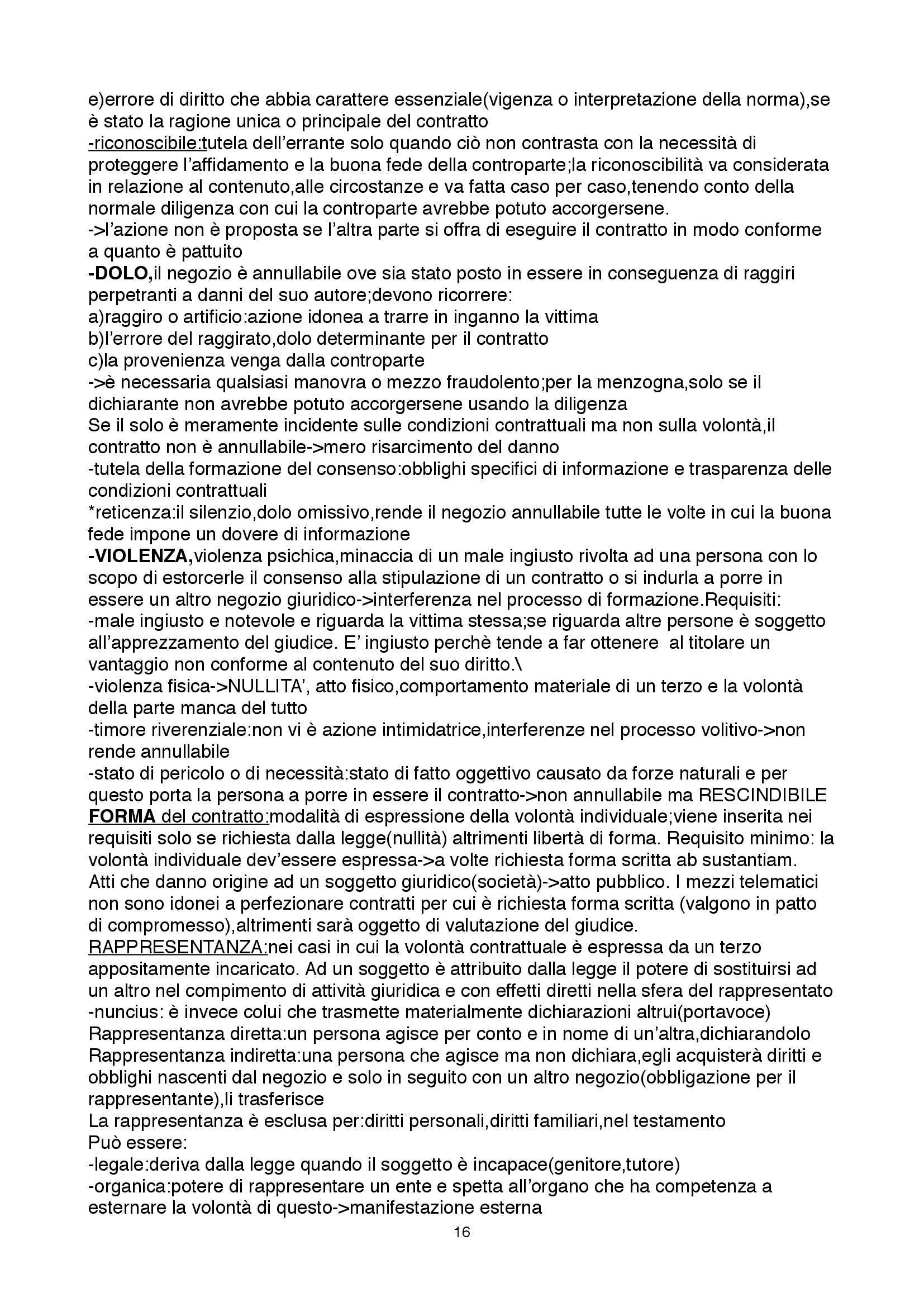 Riassunto esame Diritto Privato II, prof. Pasquino, libro consigliato Obbligazioni e Singoli Contratti di Torrente e Schlesinger Pag. 16