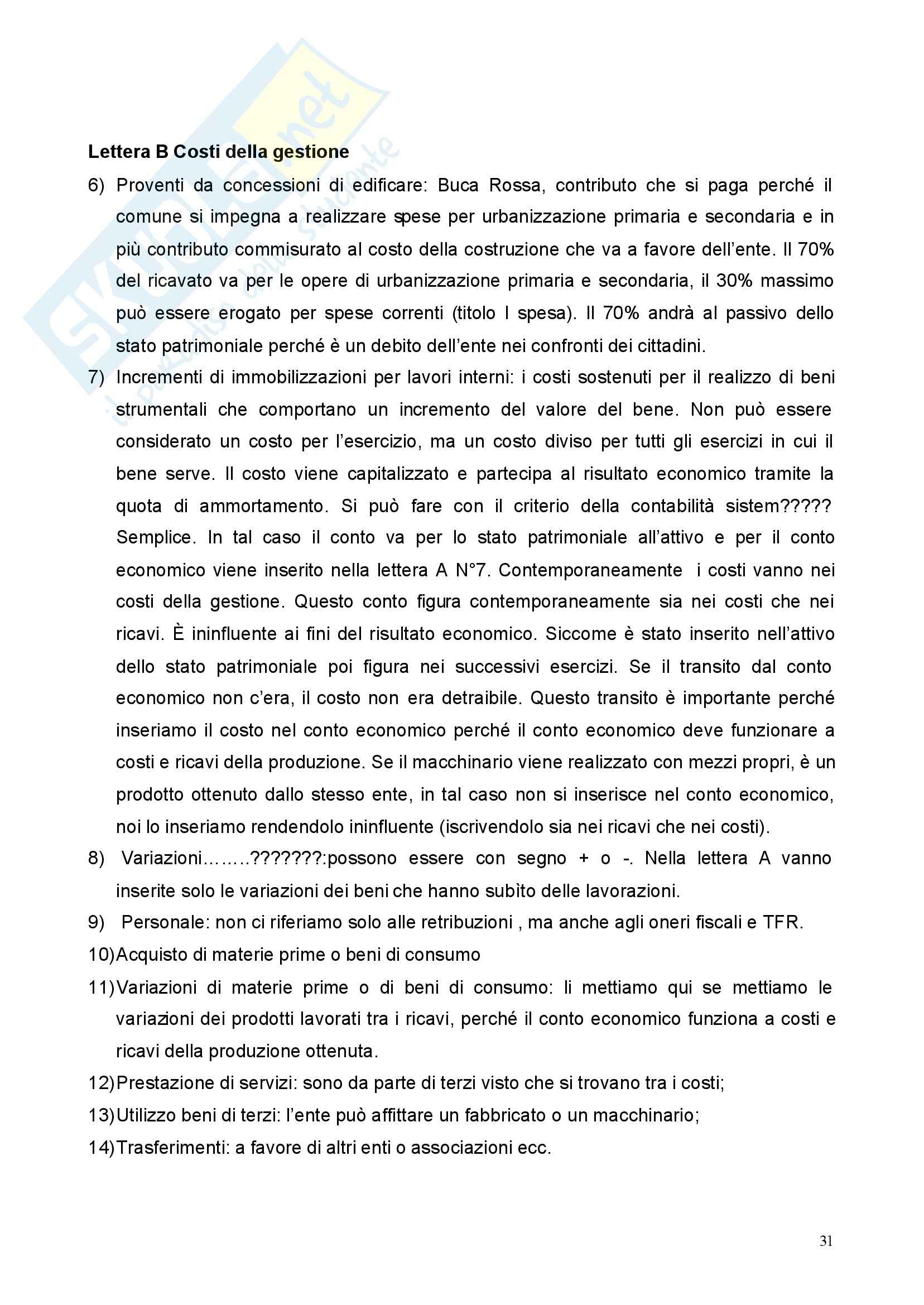 Economia Aziendale - Appunti Pag. 31