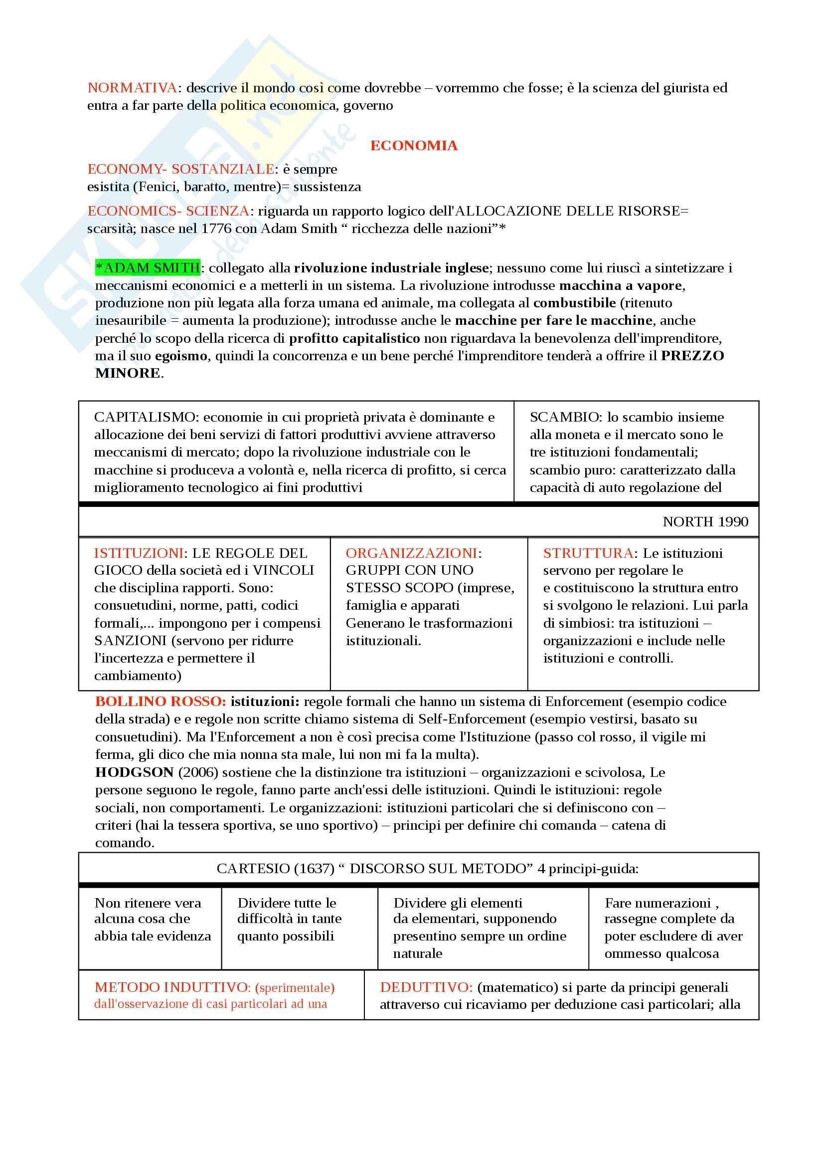 Economia politica Unibo Prof. Leoncini Pag. 2