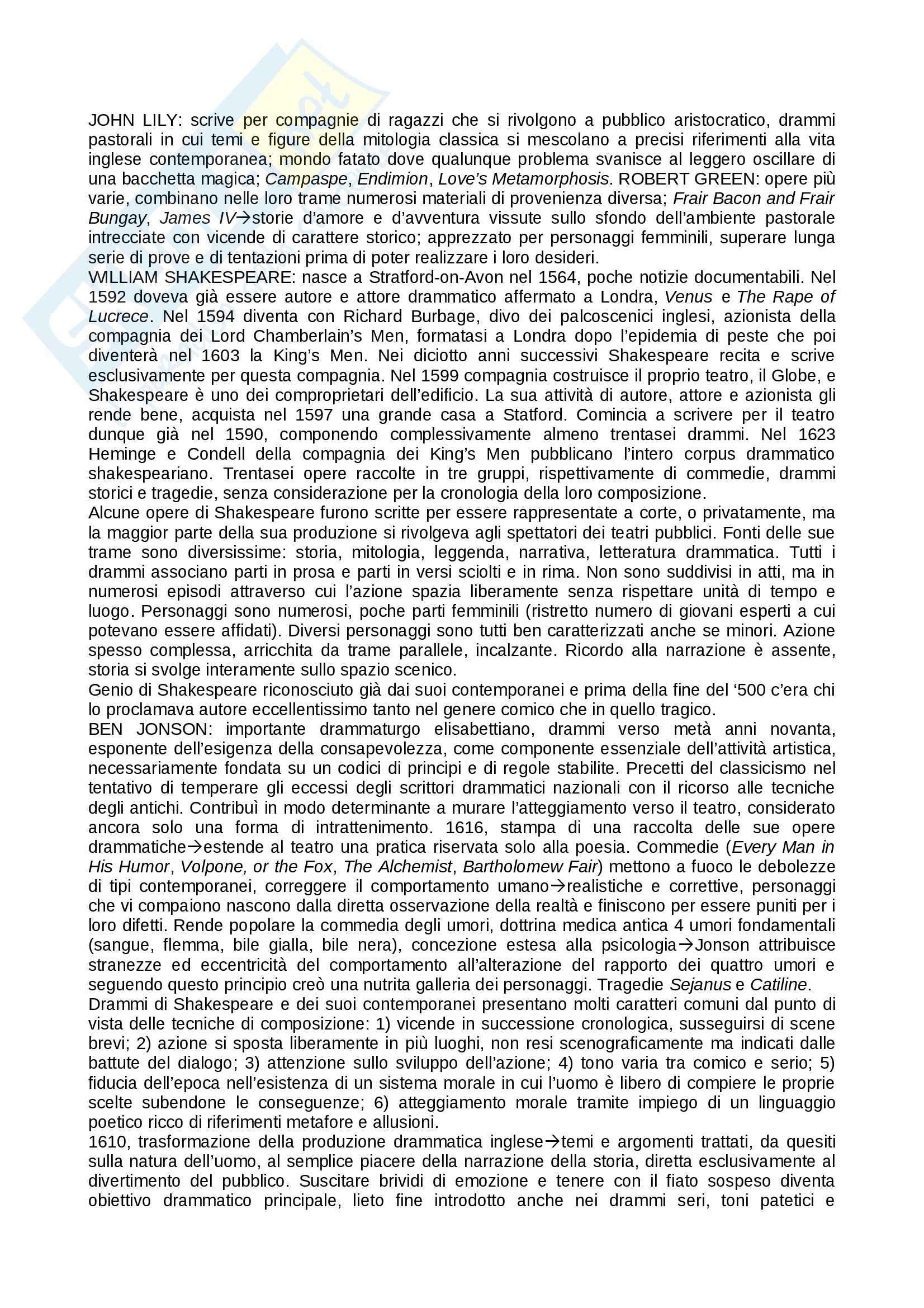 Riassunto esame teatro, prof. Alberti, libro consigliato Storia del teatro, Brockett, Vicentini, De Lorenzis Pag. 26