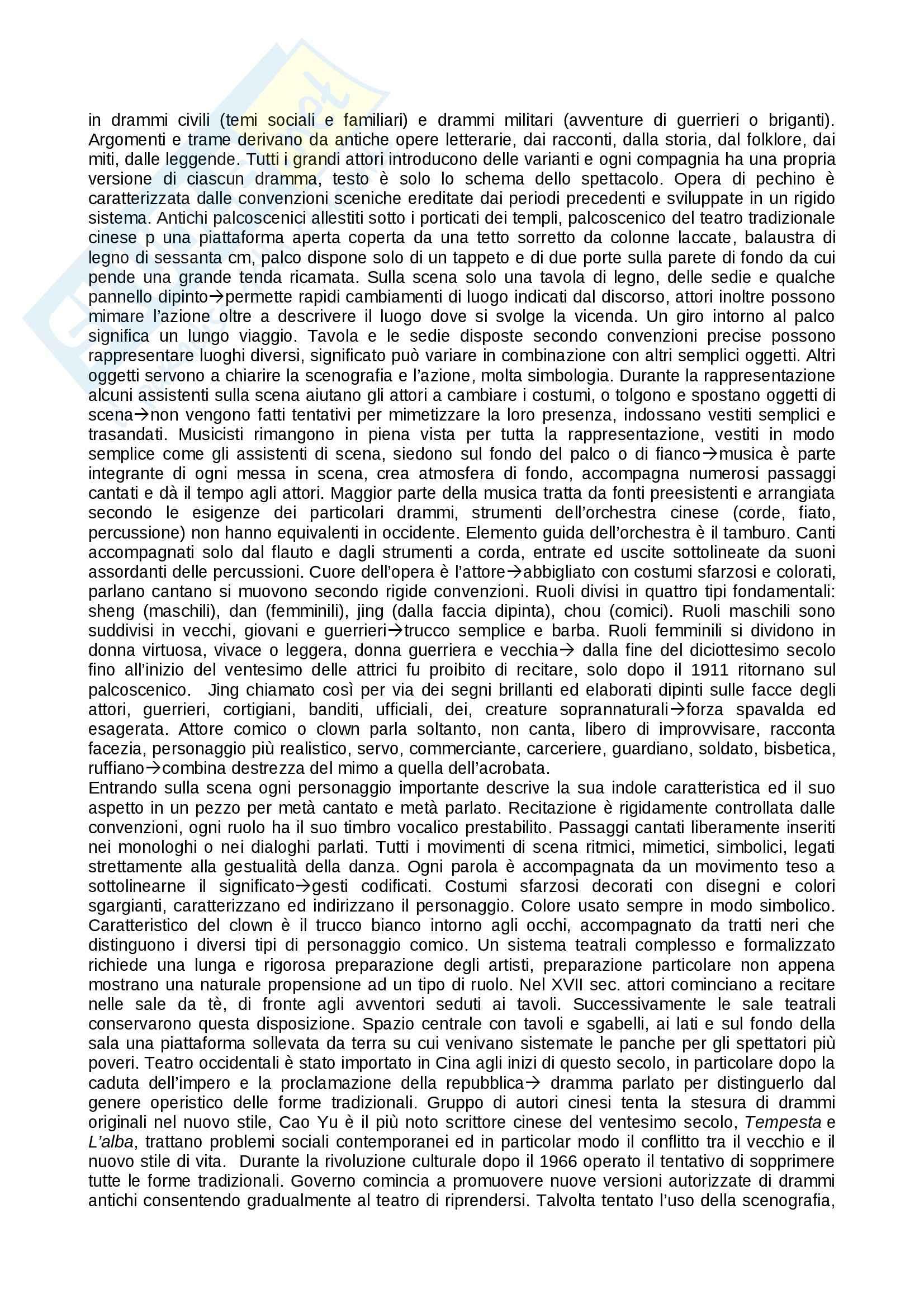 Riassunto esame teatro, prof. Alberti, libro consigliato Storia del teatro, Brockett, Vicentini, De Lorenzis Pag. 41