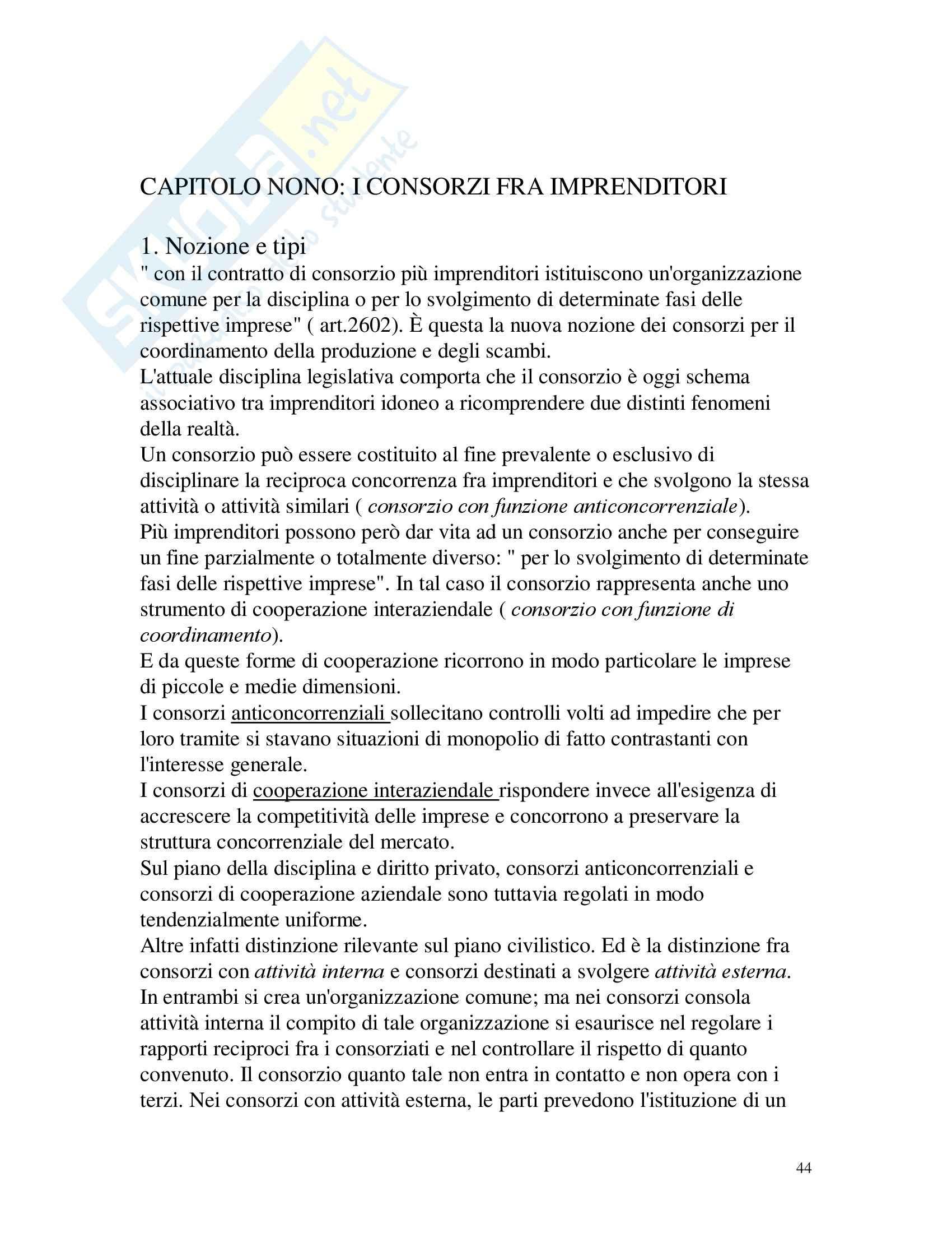 Diritto commerciale – Campobassino