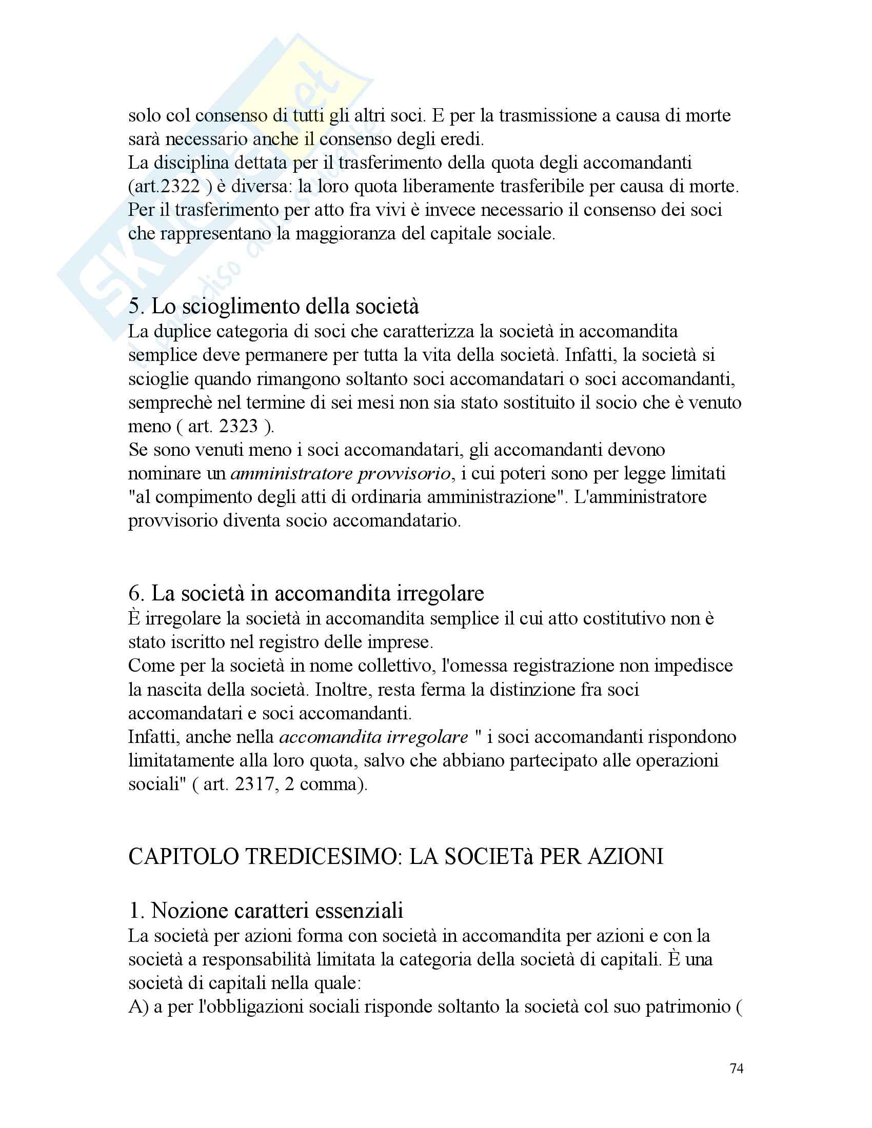Diritto commerciale – Campobassino Pag. 31