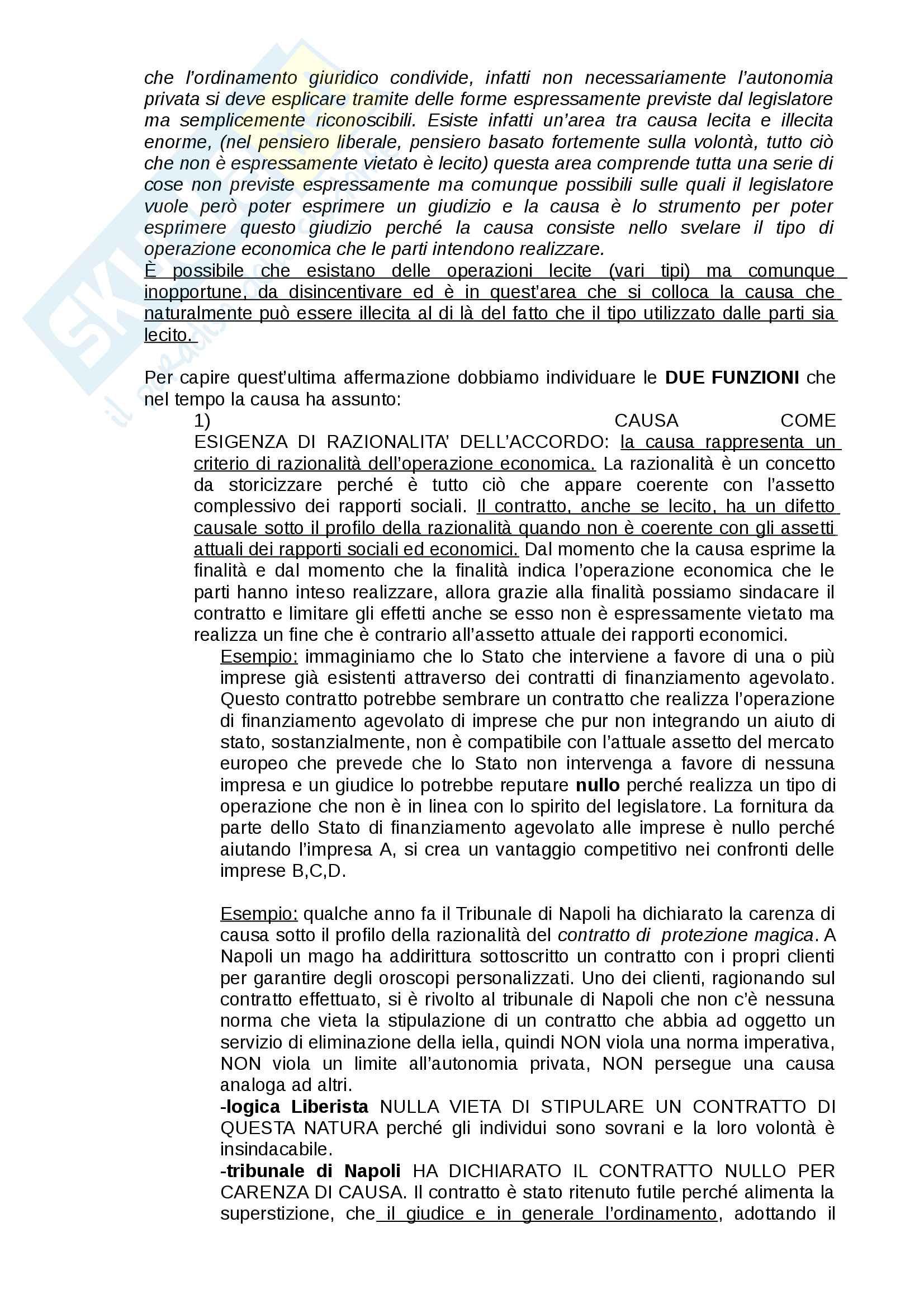 Appunti di Diritto Privato dell'Economia prof. Piranio Pag. 26