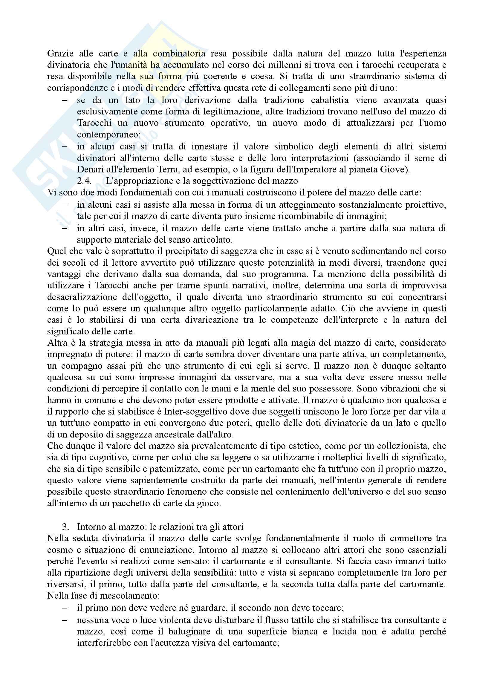 Riassunto semiotica della cultura, prof. Leone, libro consigliato Tracciati di etnosemiotica, Marsciani Pag. 16