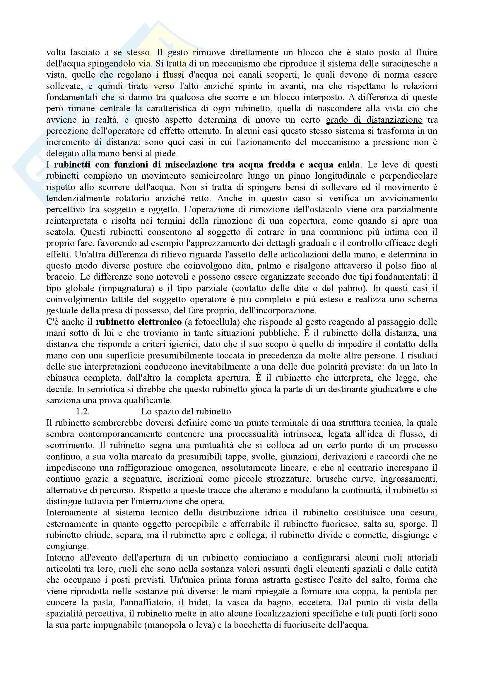 Riassunto semiotica della cultura, prof. Leone, libro consigliato Tracciati di etnosemiotica, Marsciani Pag. 21