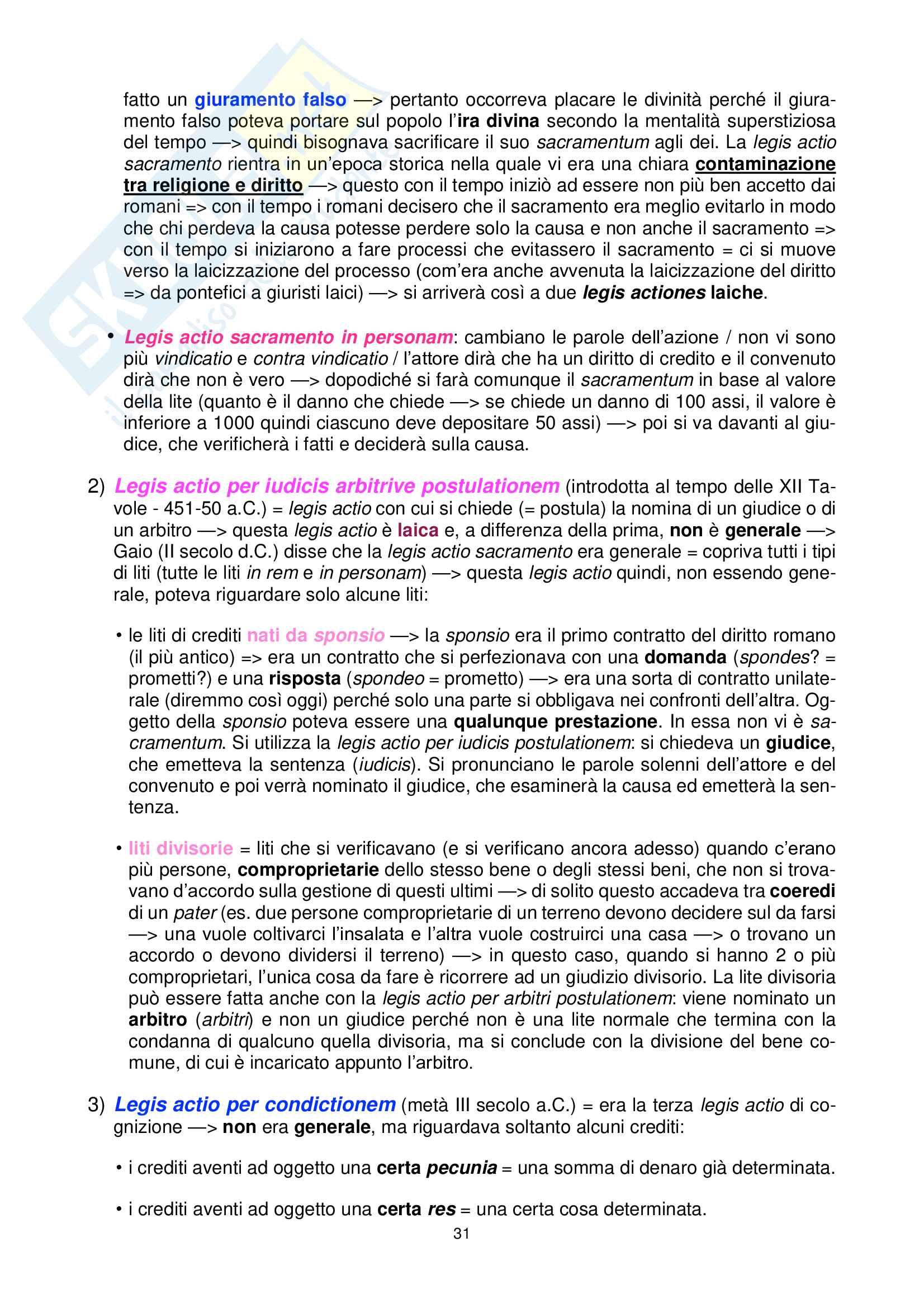 Diritto romano Pag. 31