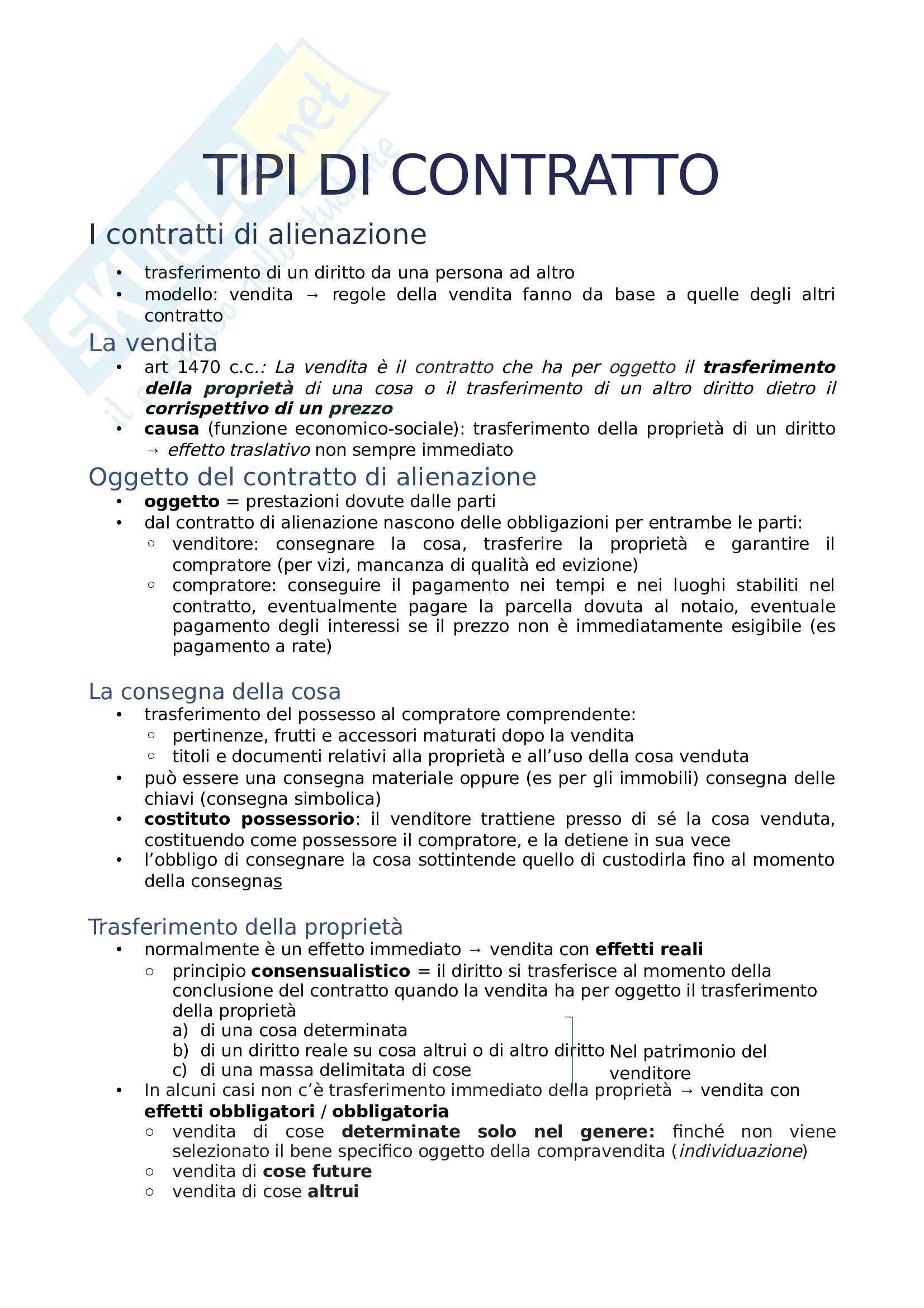 il contratto Pag. 26