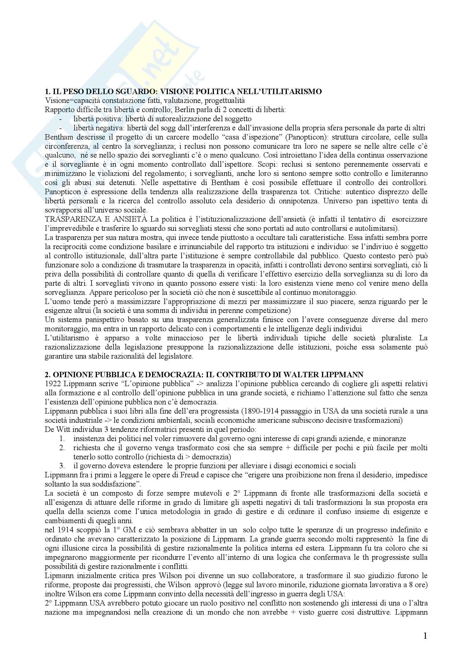 Riassunto esame Diritto e Istituzioni Pubbliche, prof. Marsocci, libro consigliato Conoscenza e Potere di Rimoli e Salerno