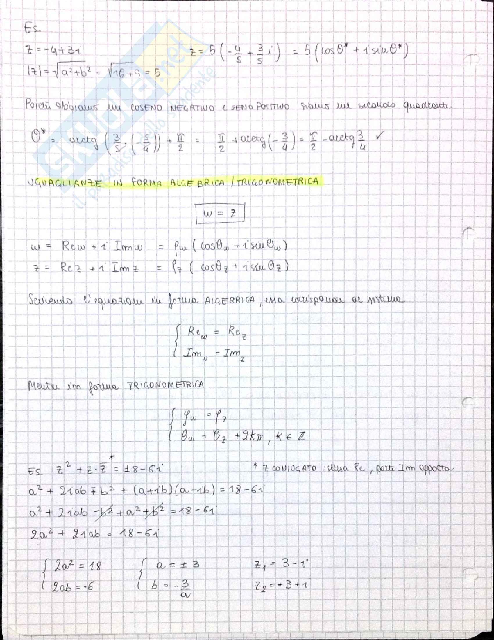 Corso di Analisi 1 Pag. 41