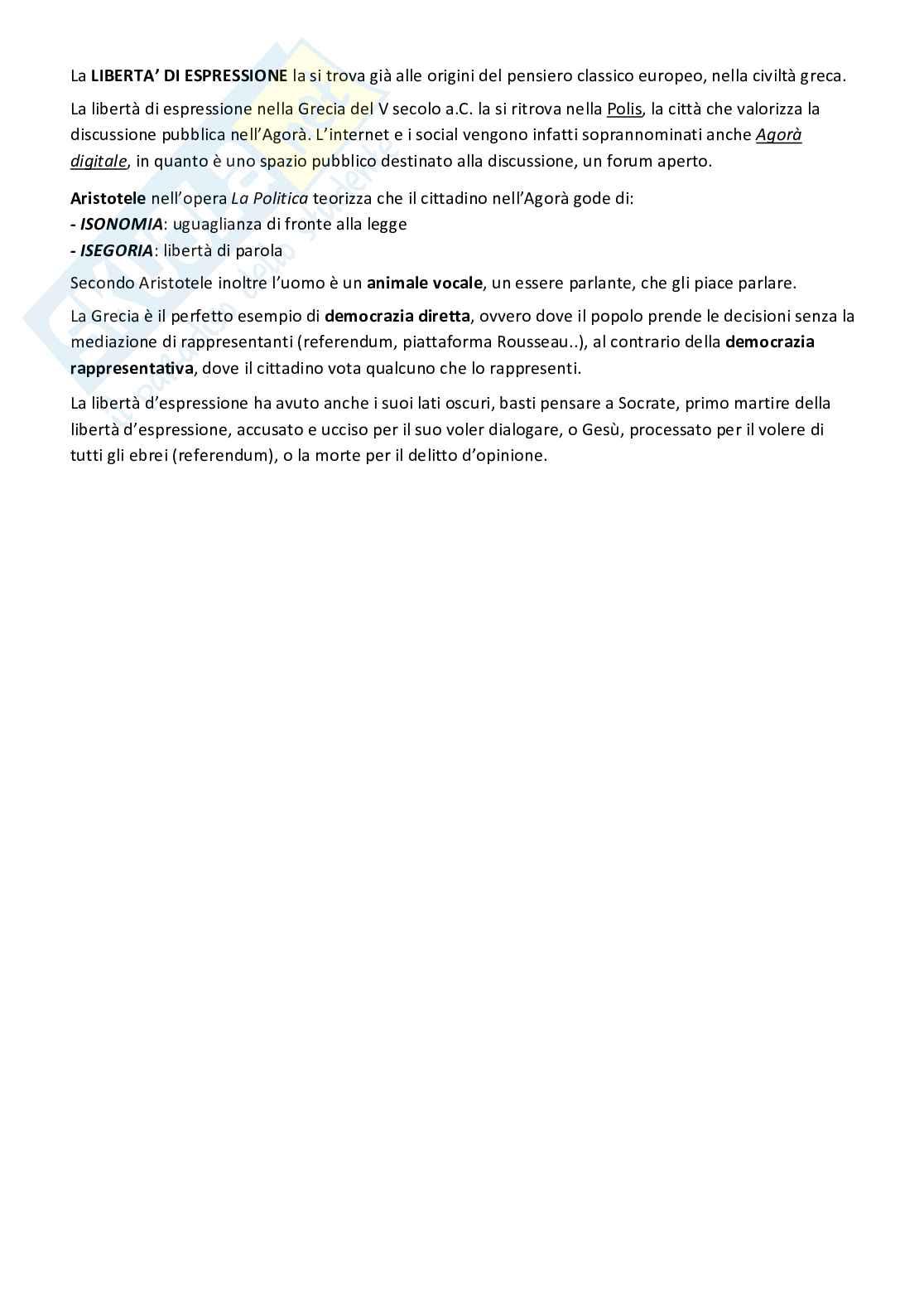 Diritto dell'informazione Pag. 2