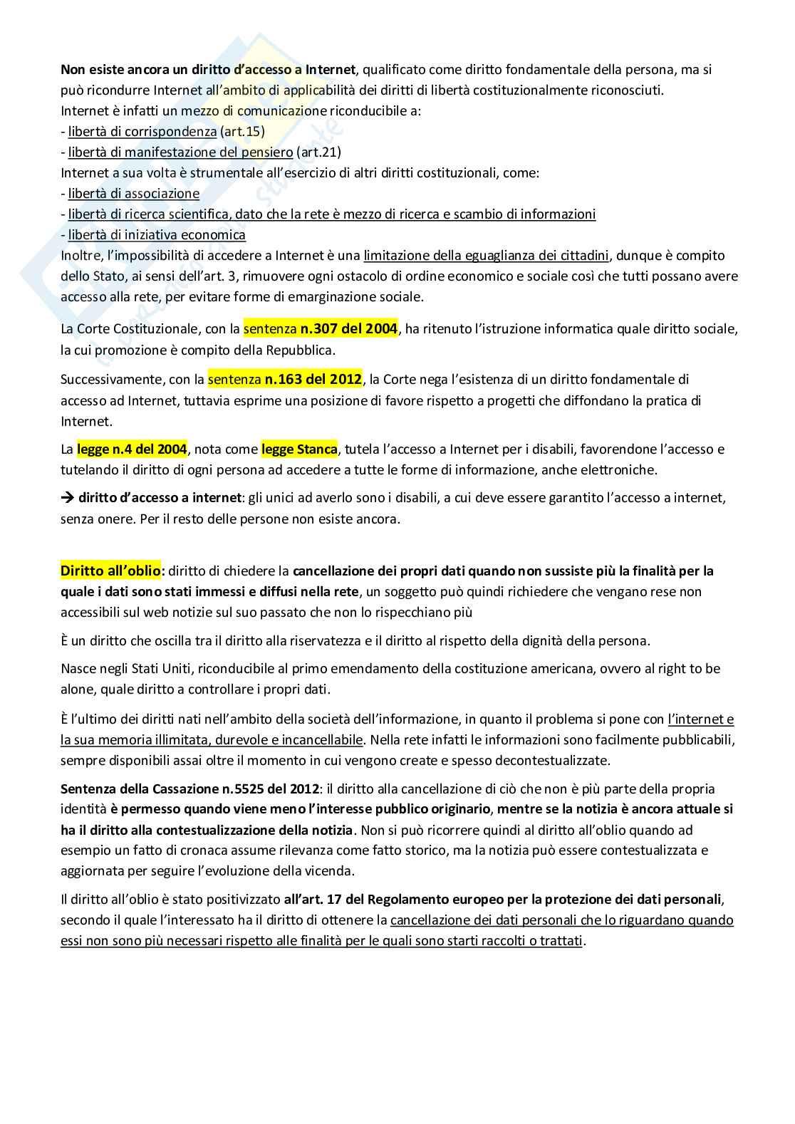 Diritto dell'informazione Pag. 31