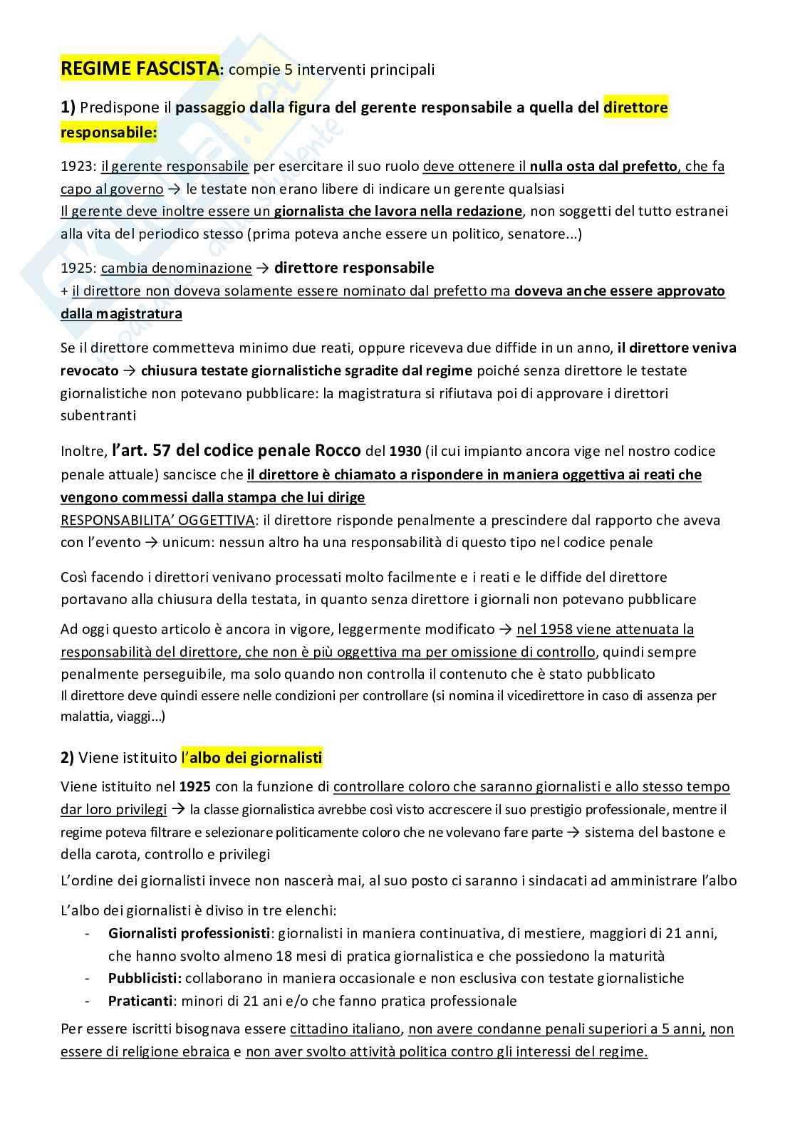 Diritto dell'informazione Pag. 6