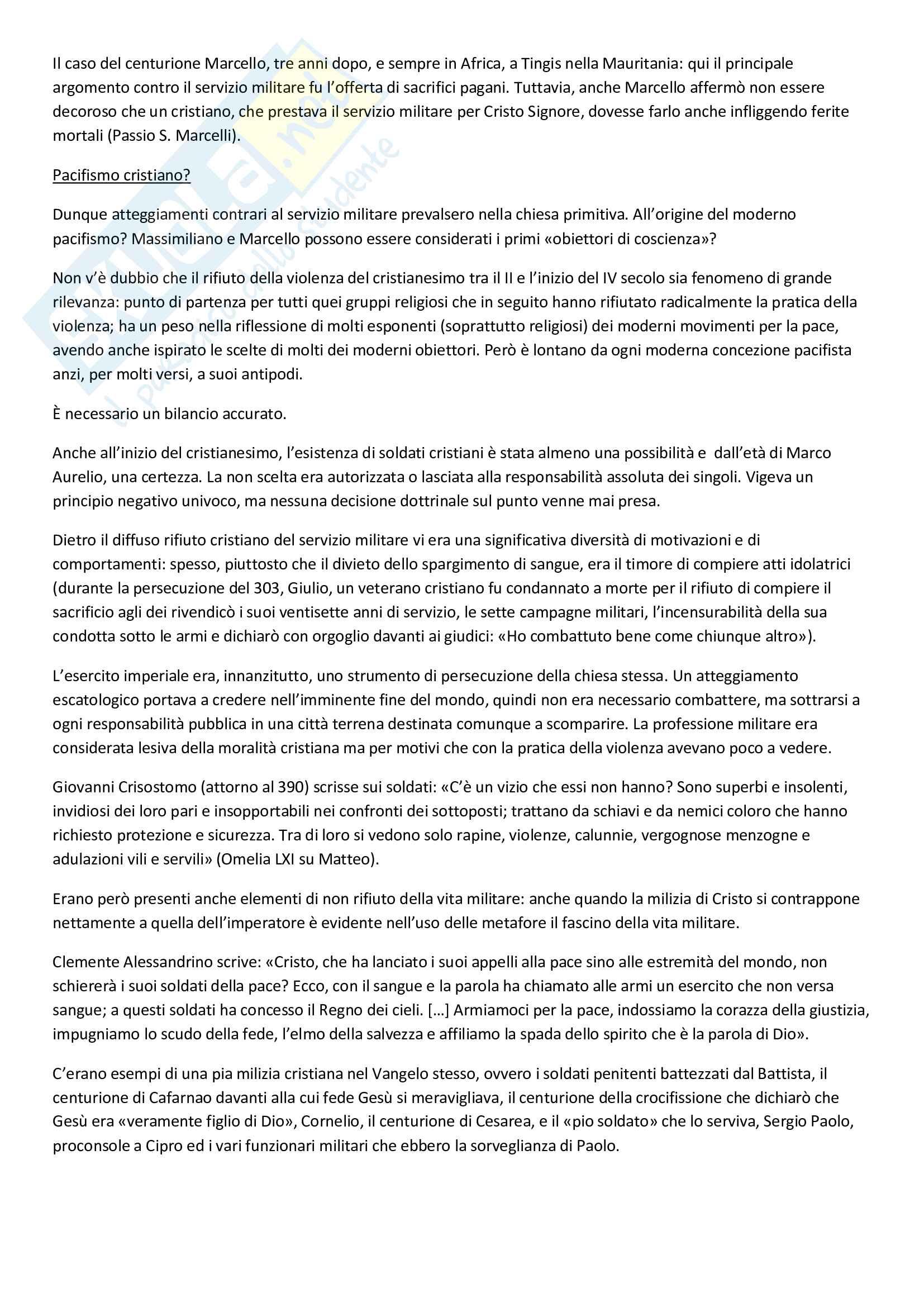 Storia della pace - Appunti Pag. 26