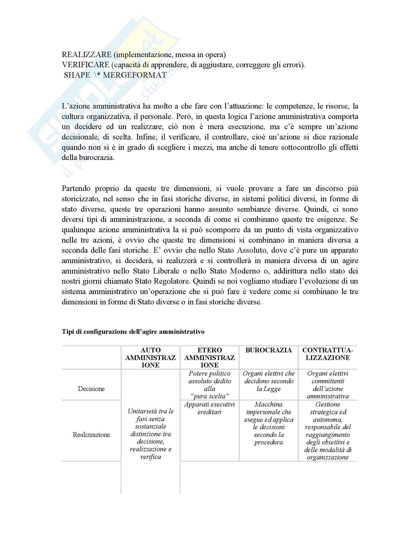Riassunto esame Scienza dell'Amministrazione, prof. Petroni, libro consigliato Lezioni di Scienza dell'Amministrazione, Cavaglieri Pag. 11