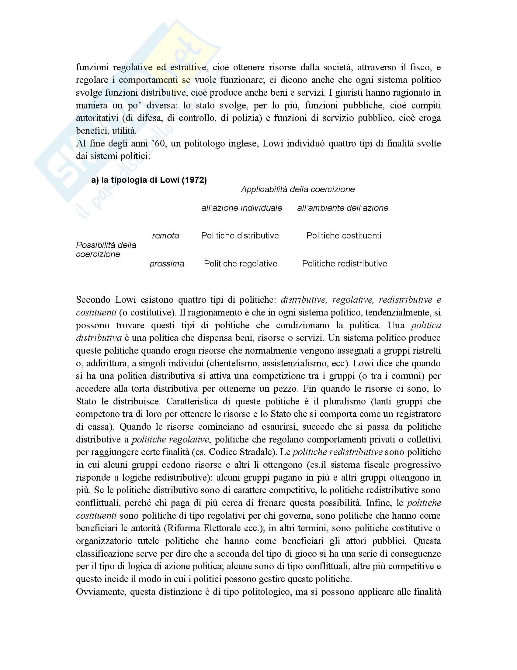 Riassunto esame Scienza dell'Amministrazione, prof. Petroni, libro consigliato Lezioni di Scienza dell'Amministrazione, Cavaglieri Pag. 16