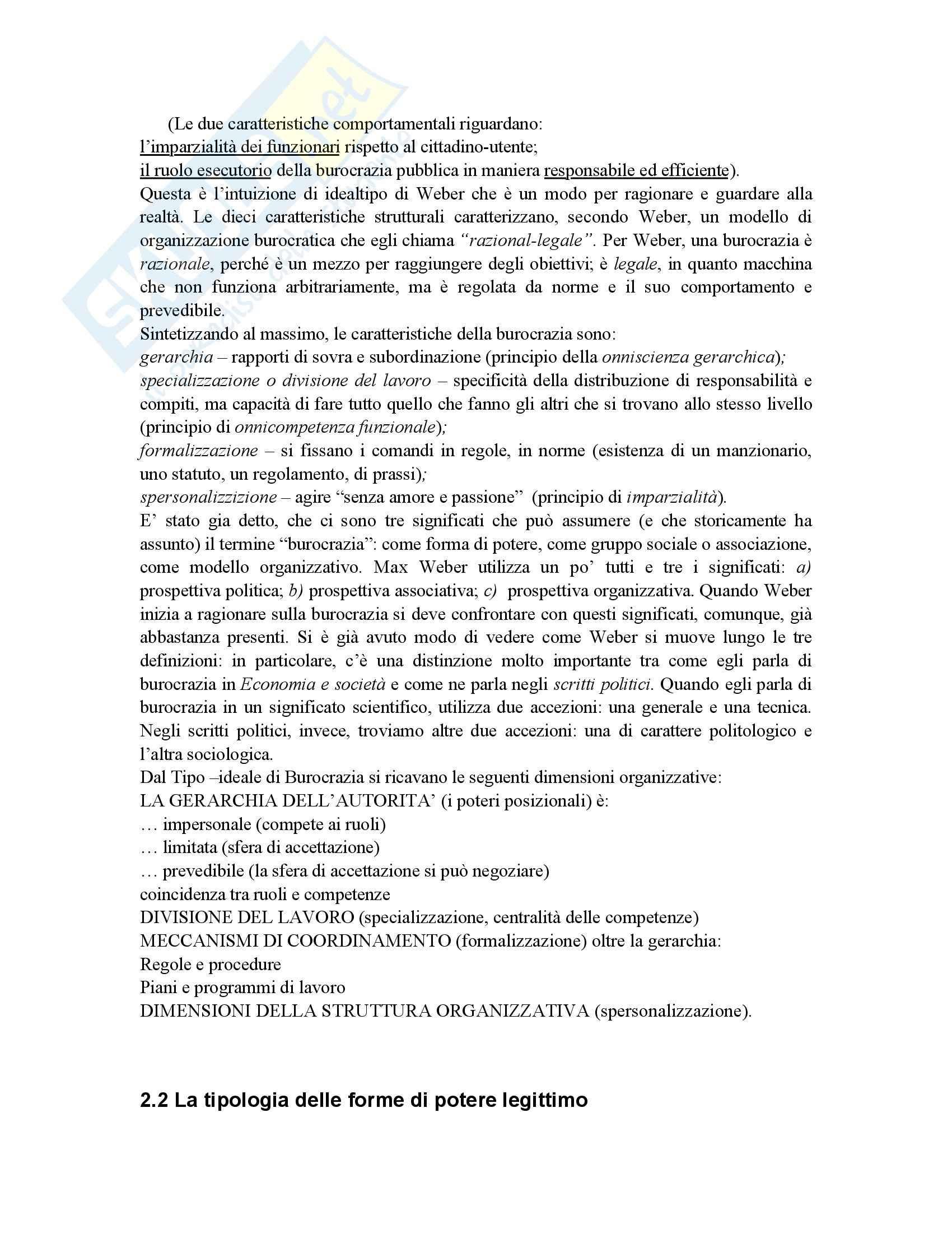 Riassunto esame Scienza dell'Amministrazione, prof. Petroni, libro consigliato Lezioni di Scienza dell'Amministrazione, Cavaglieri Pag. 21
