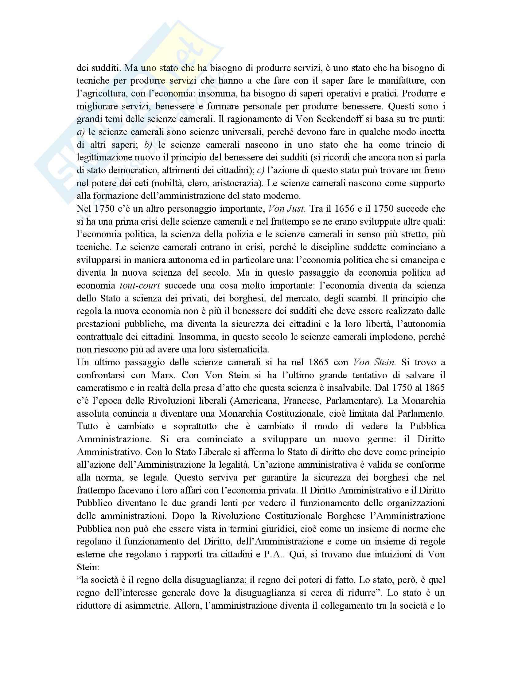 Riassunto esame Scienza dell'Amministrazione, prof. Petroni, libro consigliato Lezioni di Scienza dell'Amministrazione, Cavaglieri Pag. 6