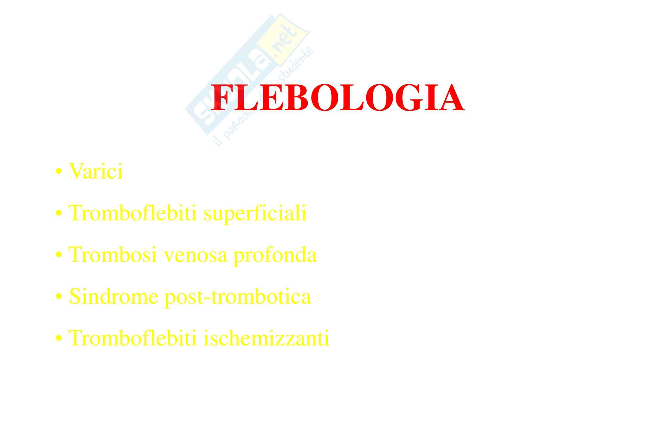 Cardiochirurgia - flebologia