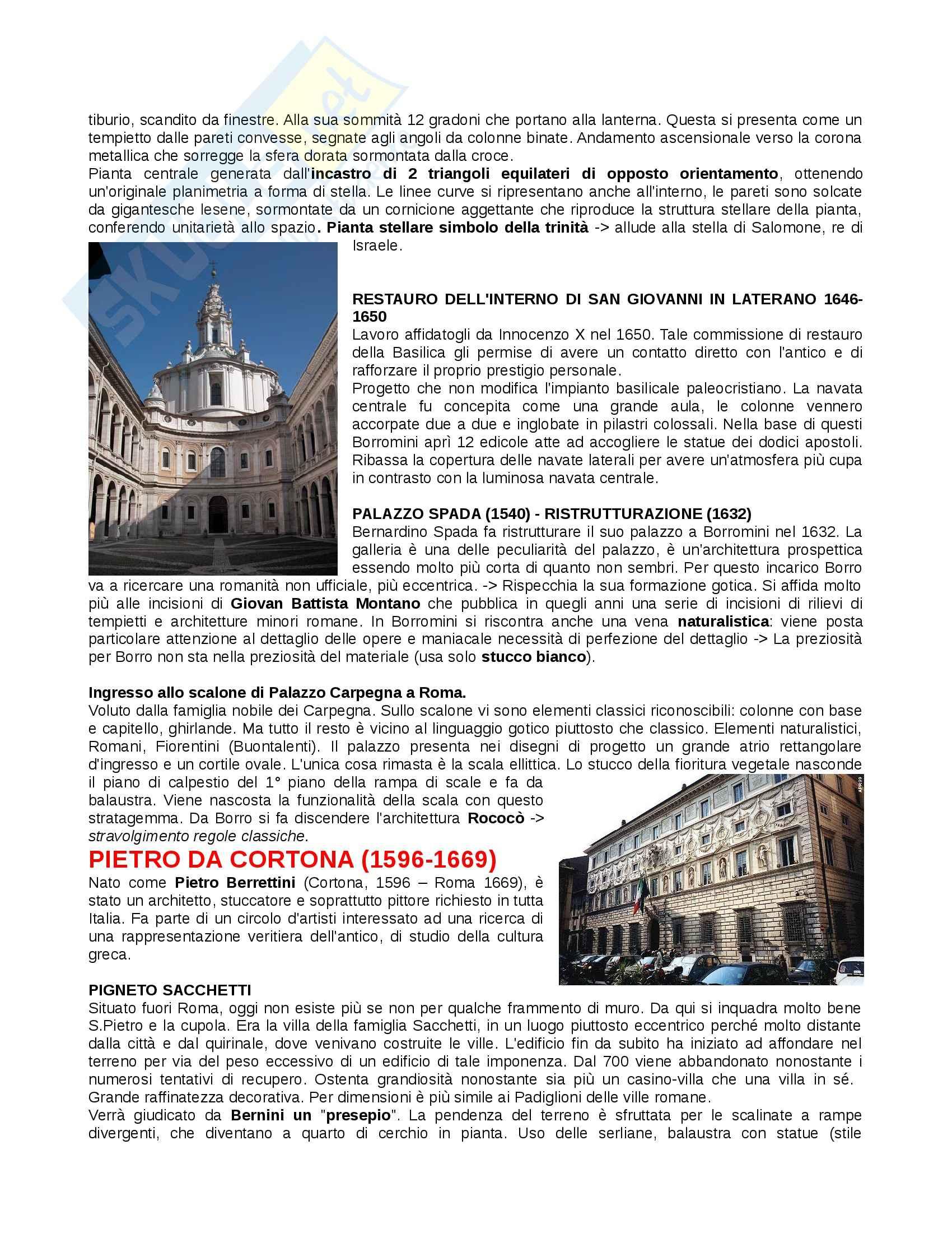 Lezioni: Appunti di Storia architettura II Pag. 16