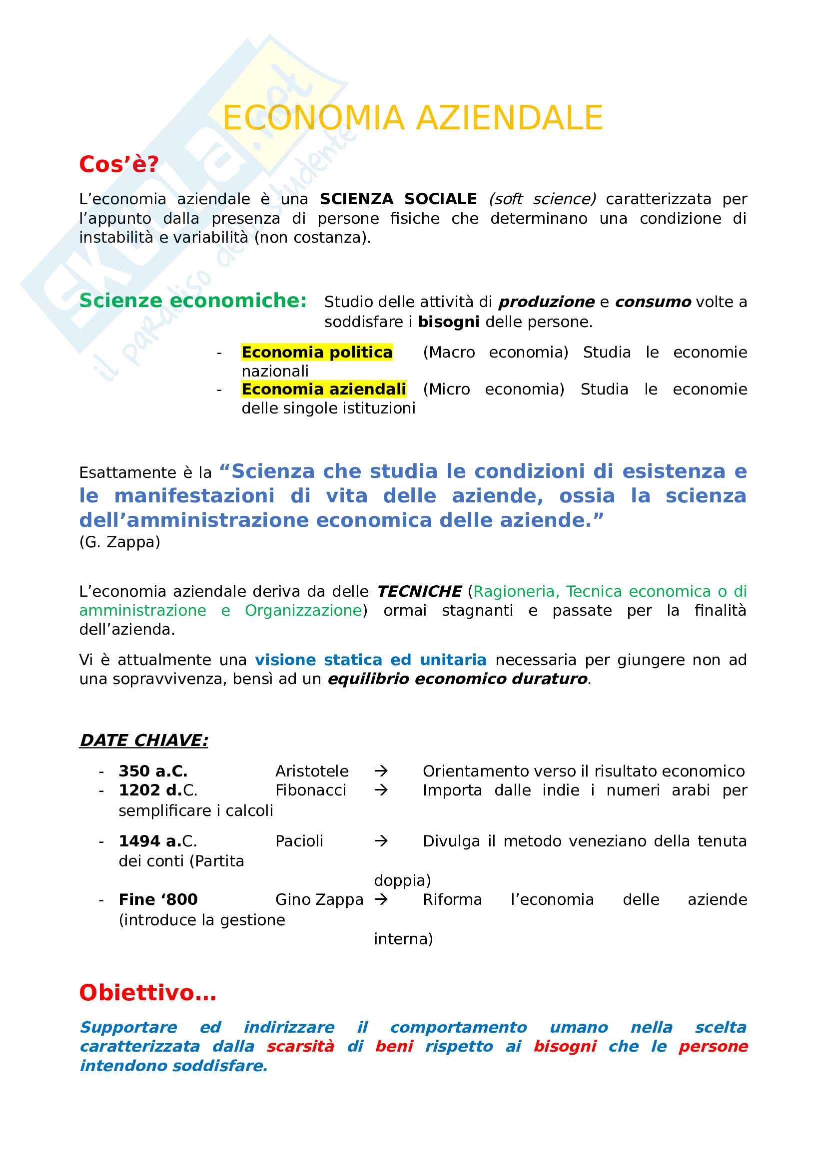 Economia Aziendale - dalla Struttura Aziendale all'Assetto Organizzativo (pt 1)