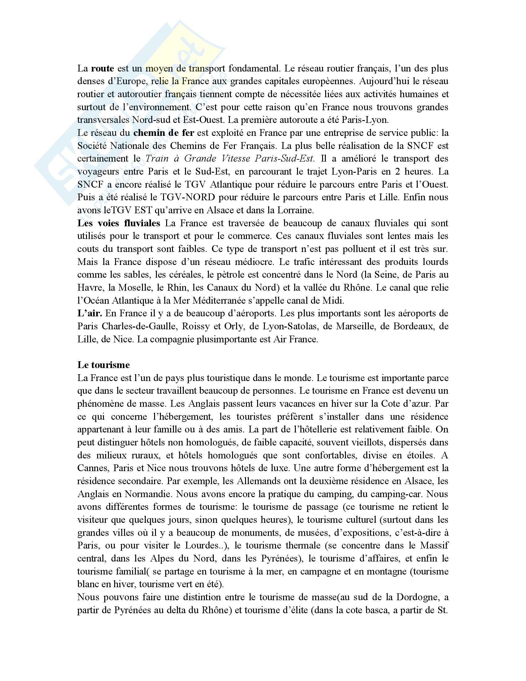 Francese - nozioni generali - Appunti Pag. 6